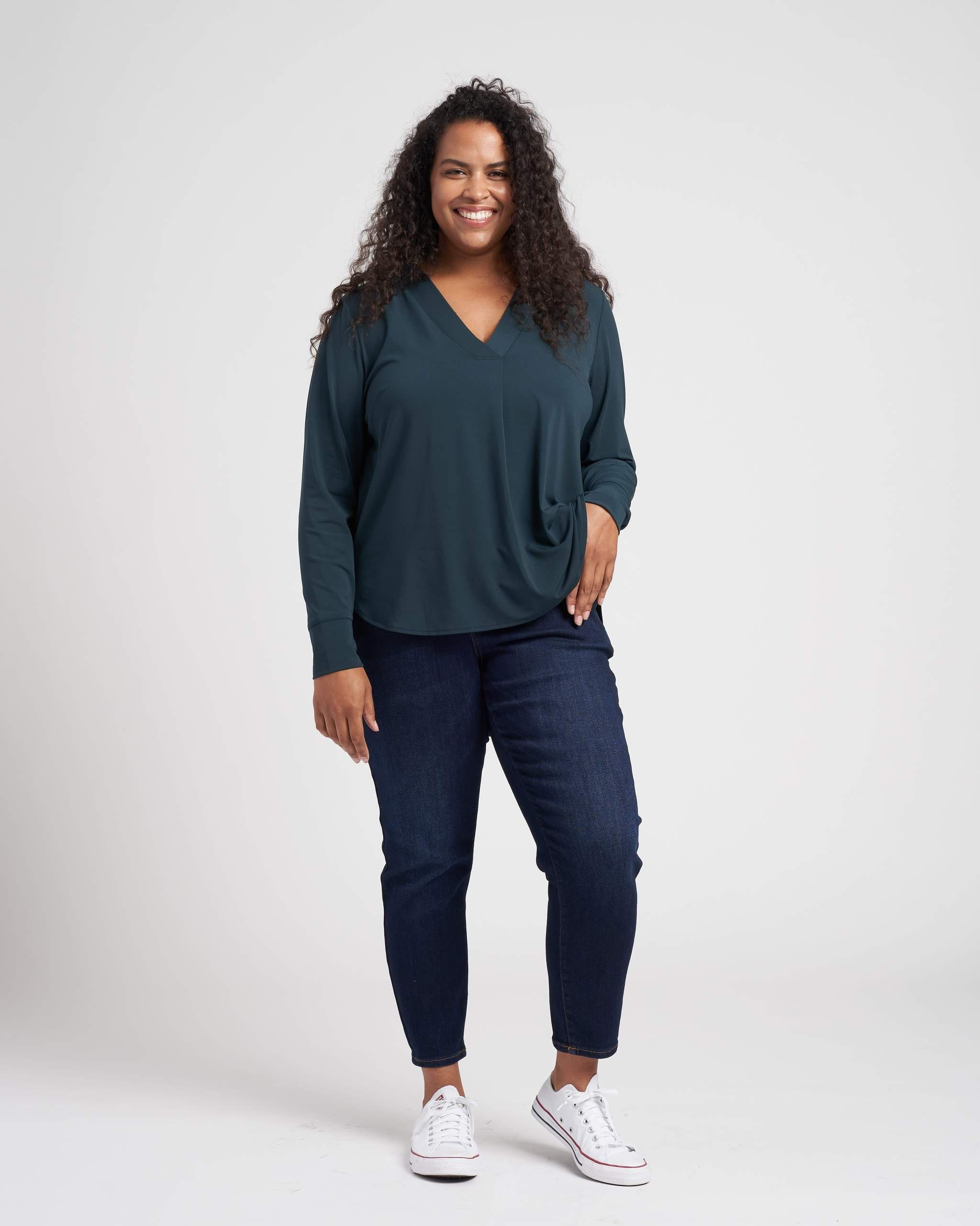 Swoop High-Low Jersey Tunic