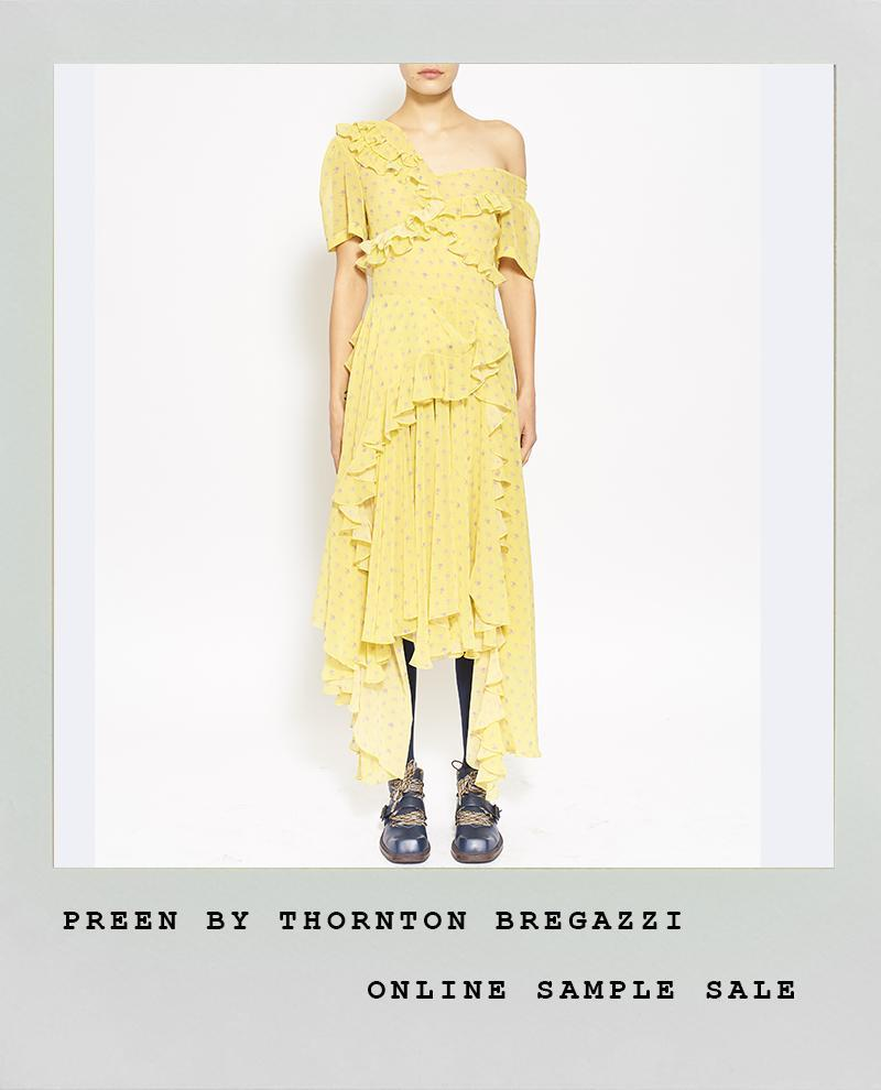 YELLOW FLORAL ONE SHOULDER DRESS