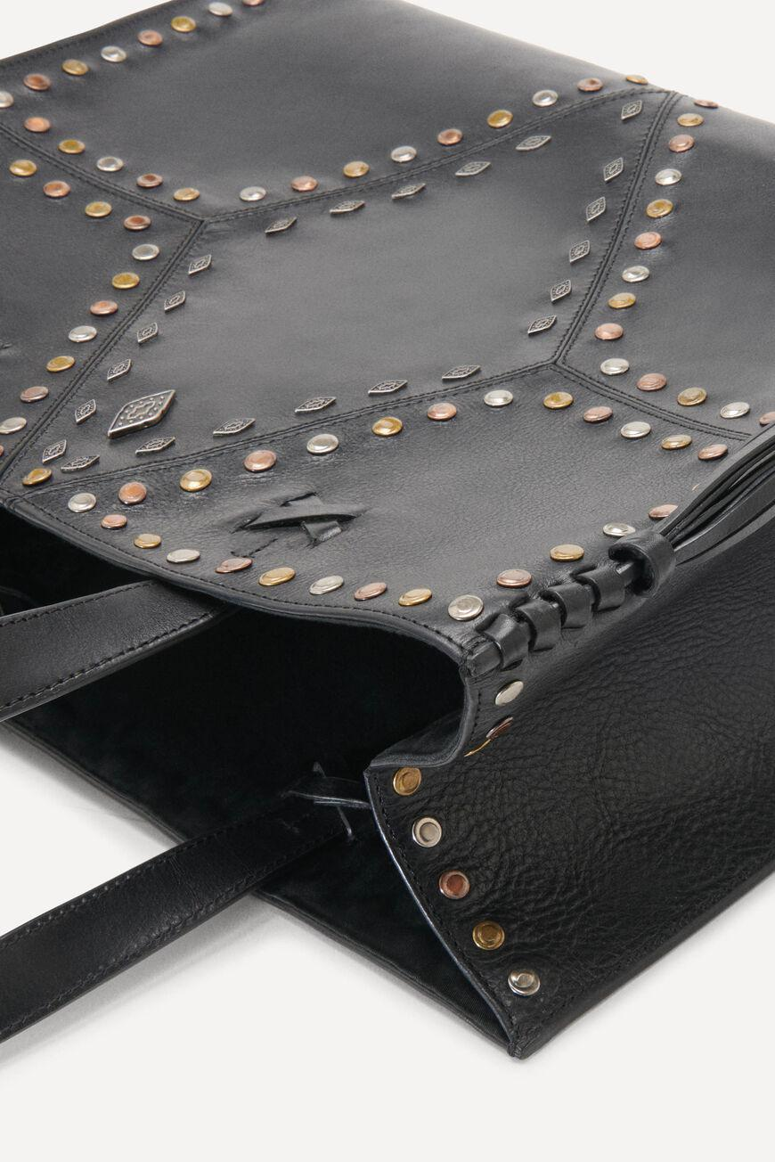 cabas.LEATHER TOTEBAG 3