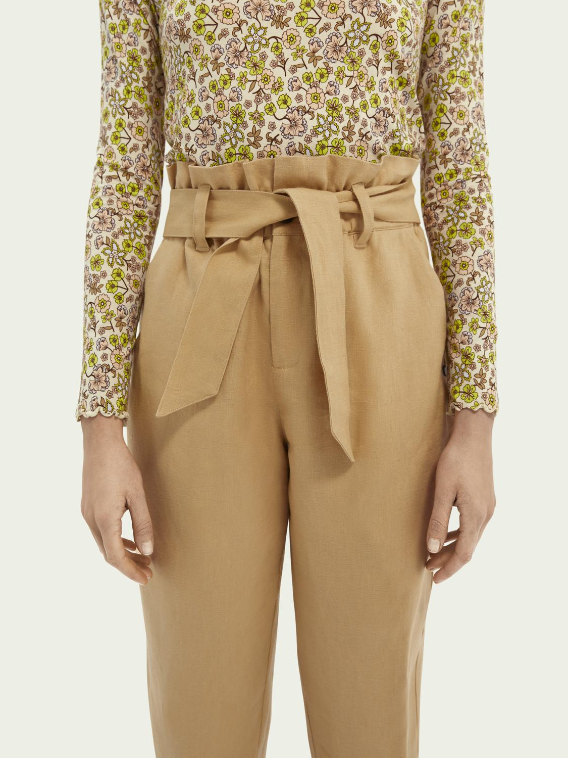 Paperbag trousers 4