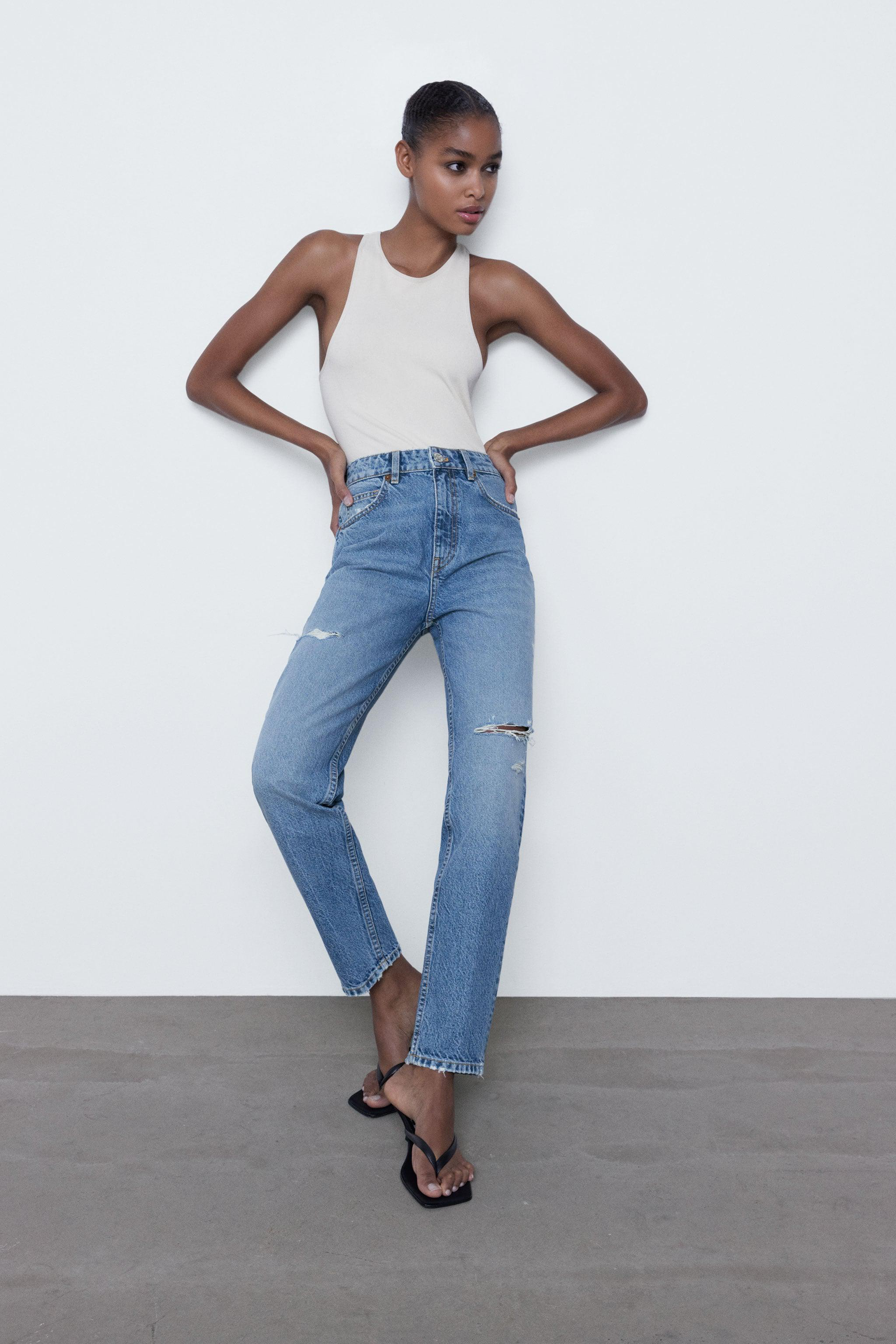 RIPPED MOM FIT JEANS 7