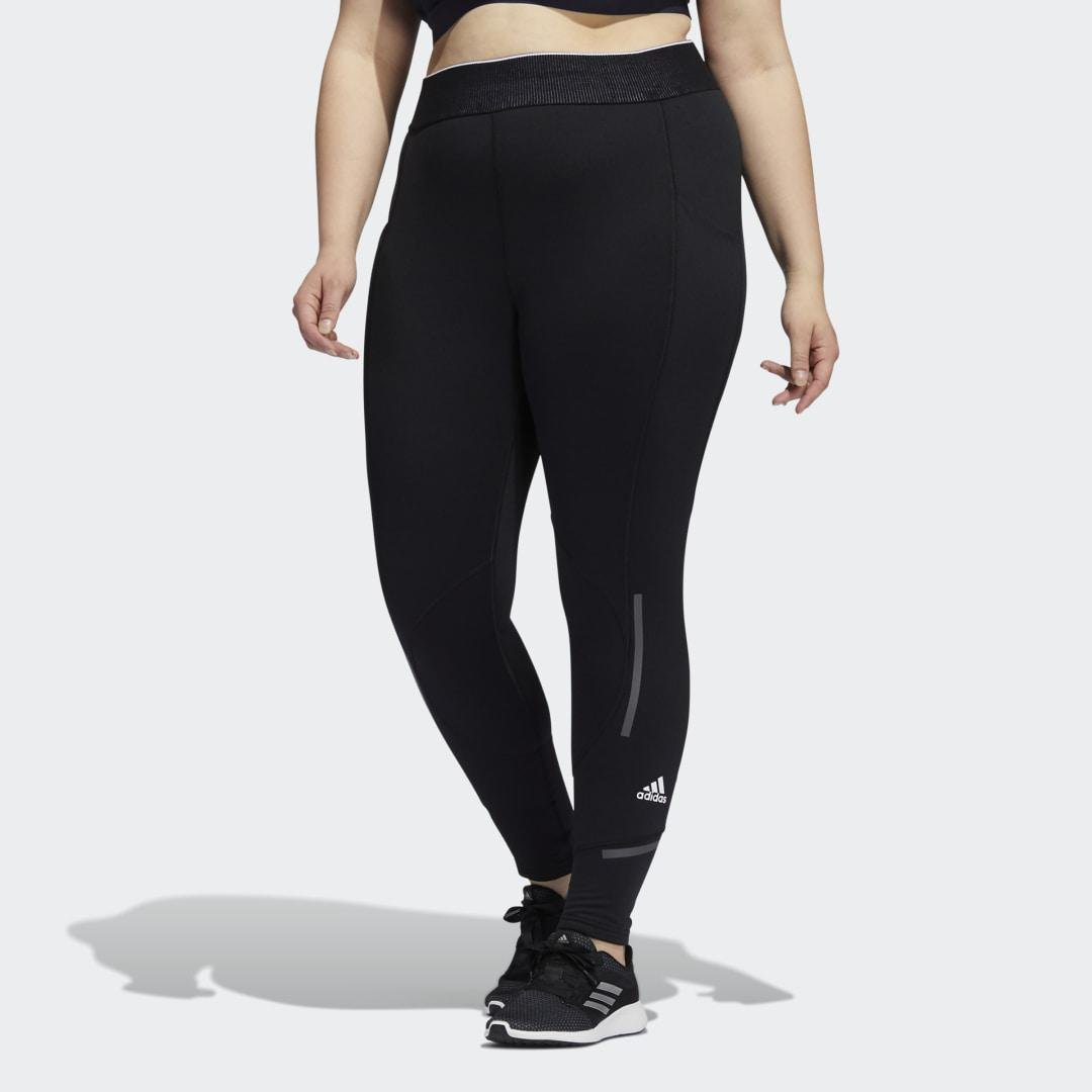 Techfit COLD.RDY Long Tights (Plus Size) Black