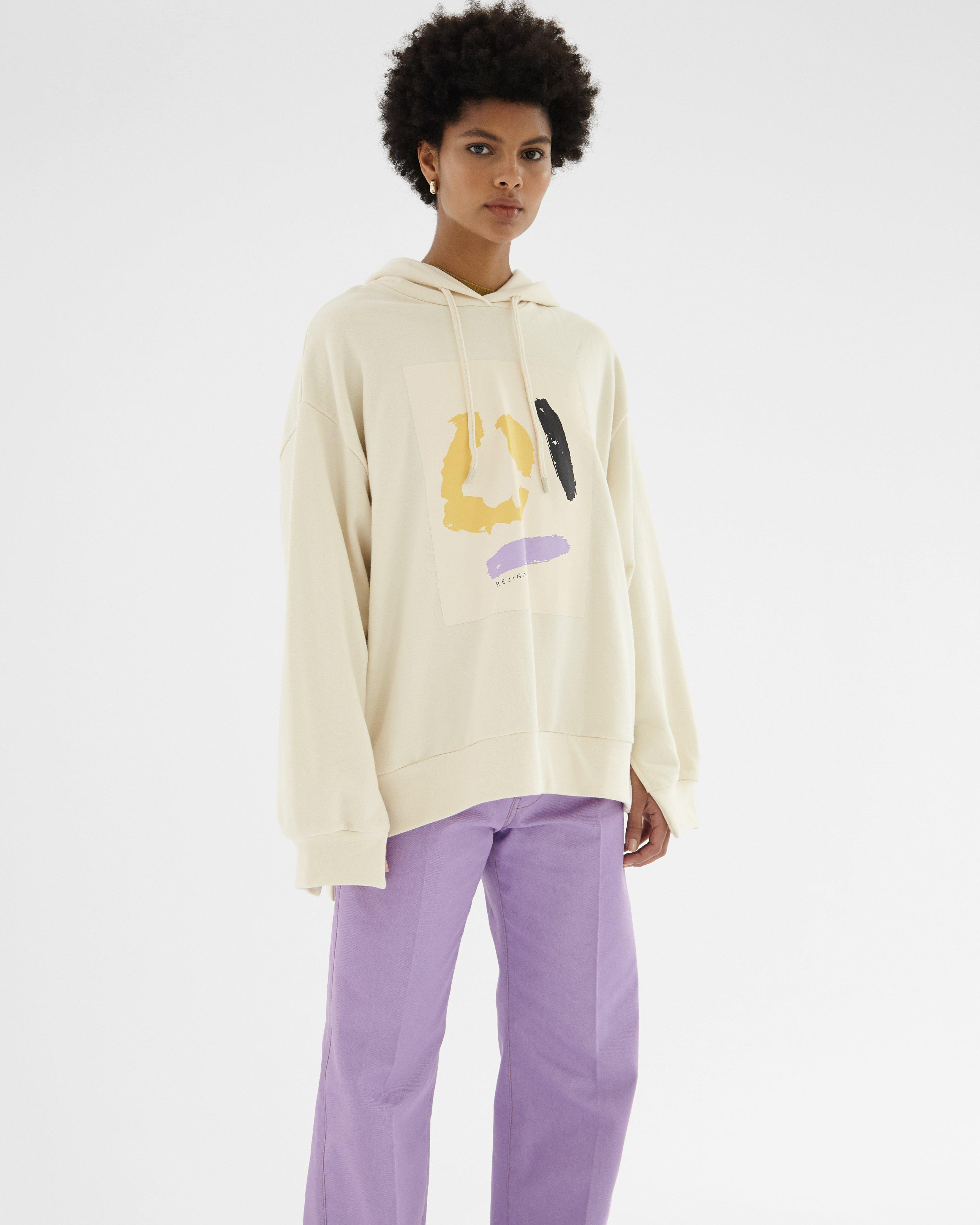 Casey Hoodie Organic French Terry Cotton Ivory