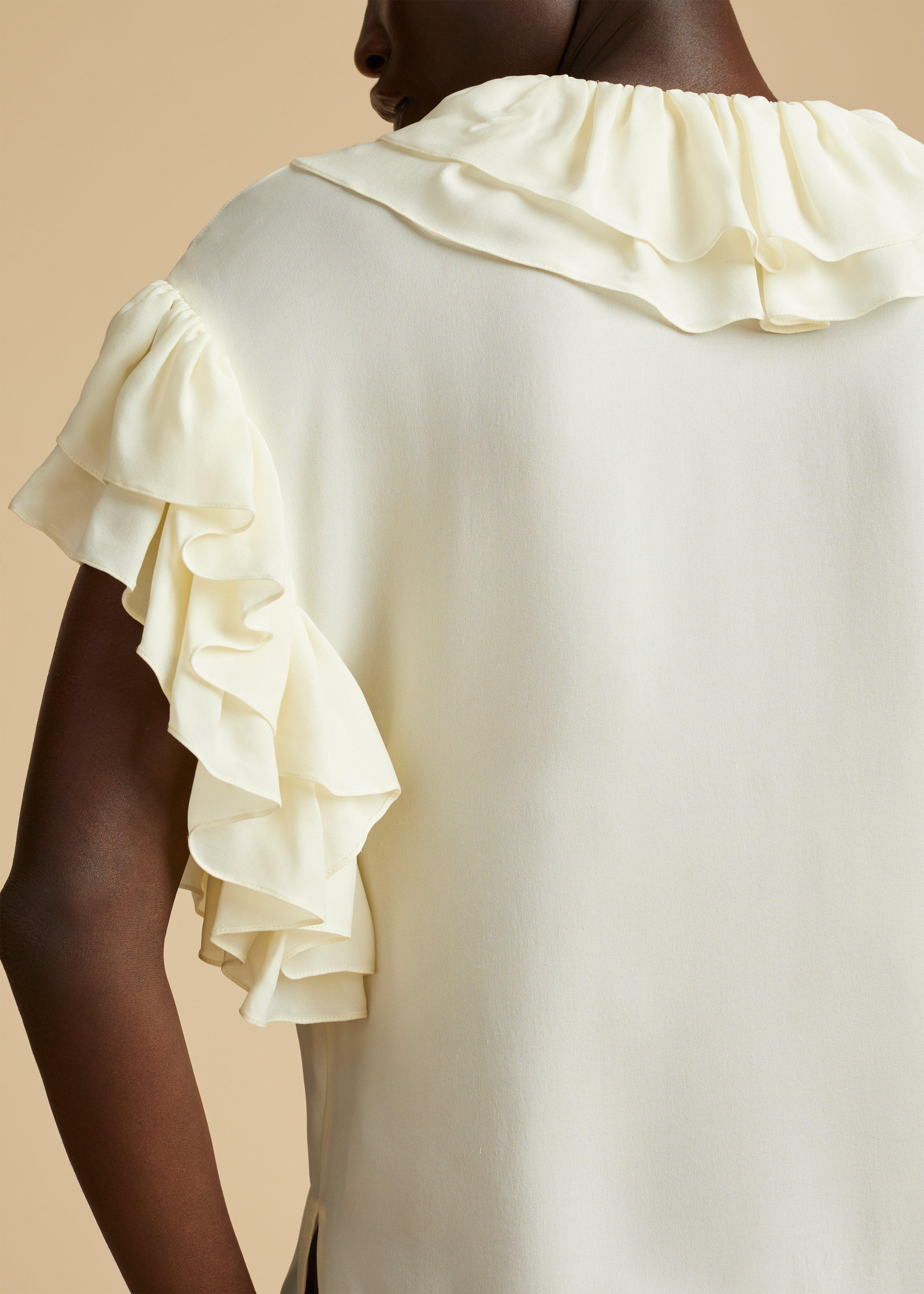 The Dee Top in Ivory 5