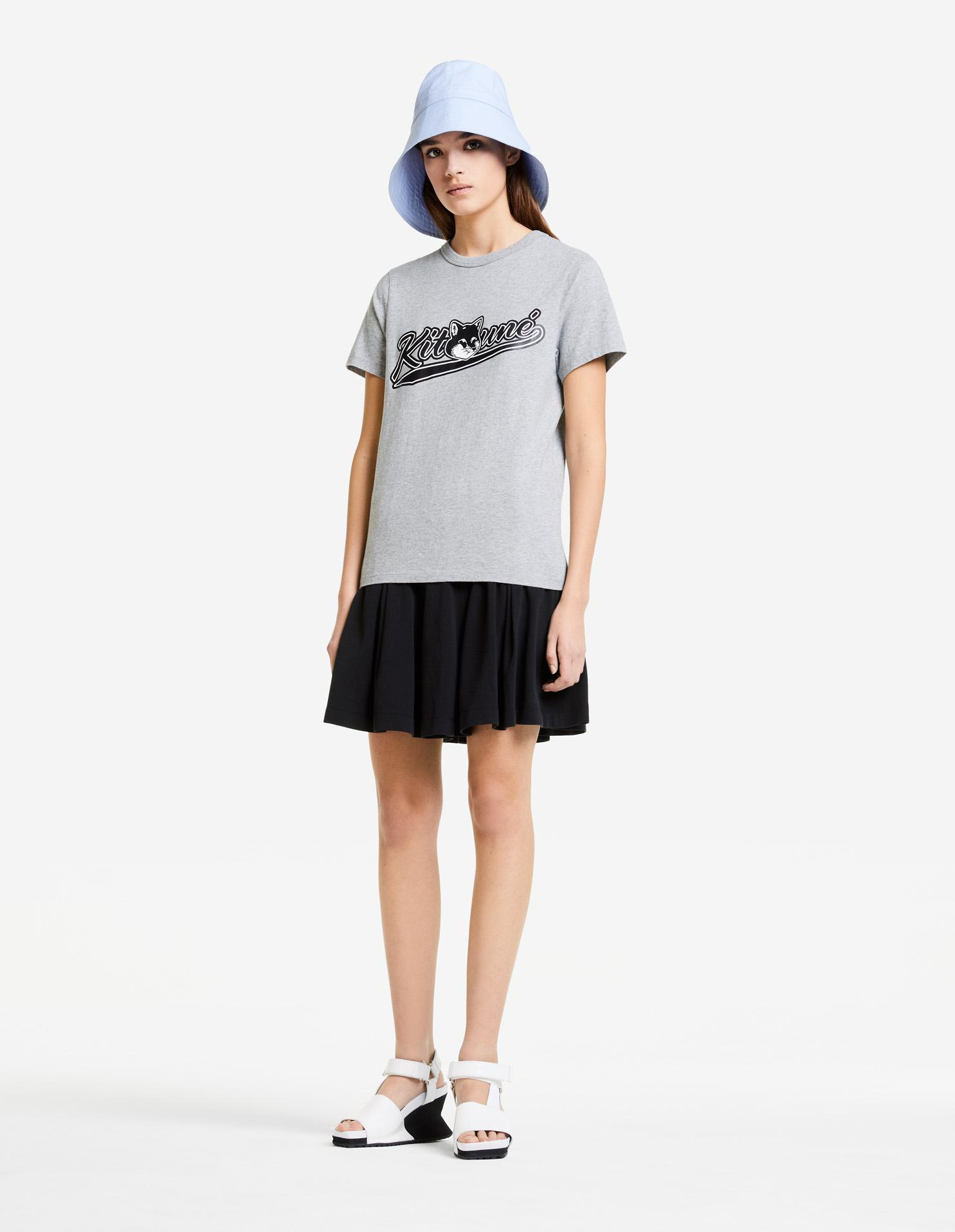 PIQUE PLEATED SKIRT