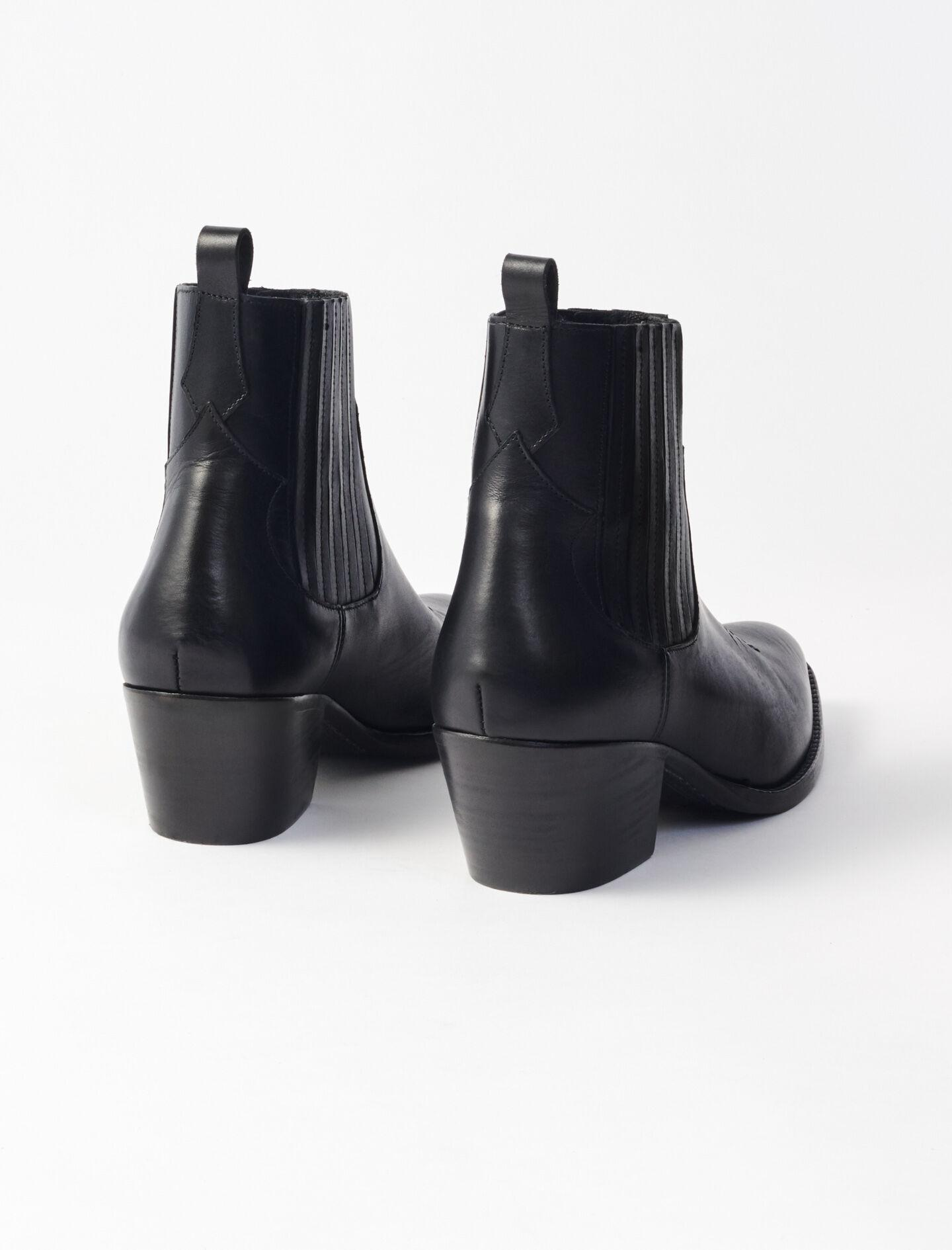 LEATHER COWBOY BOOTS 2