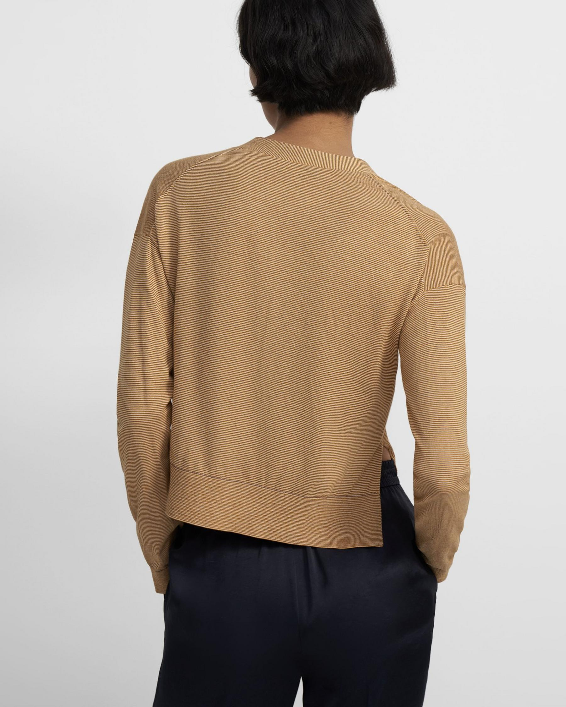Cropped Cardigan in Cotton 2