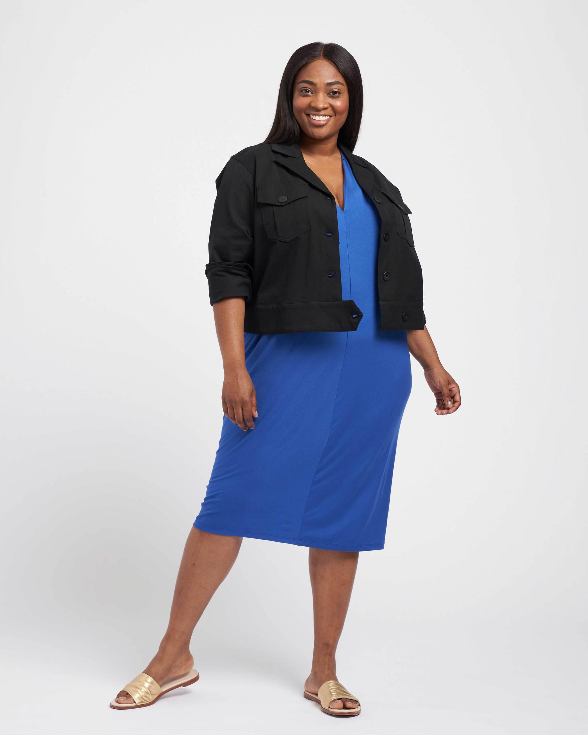 Chelsea Stretch Cotton Twill Jacket