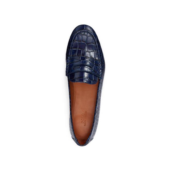 Ashtyn Embossed Leather Loafer 3