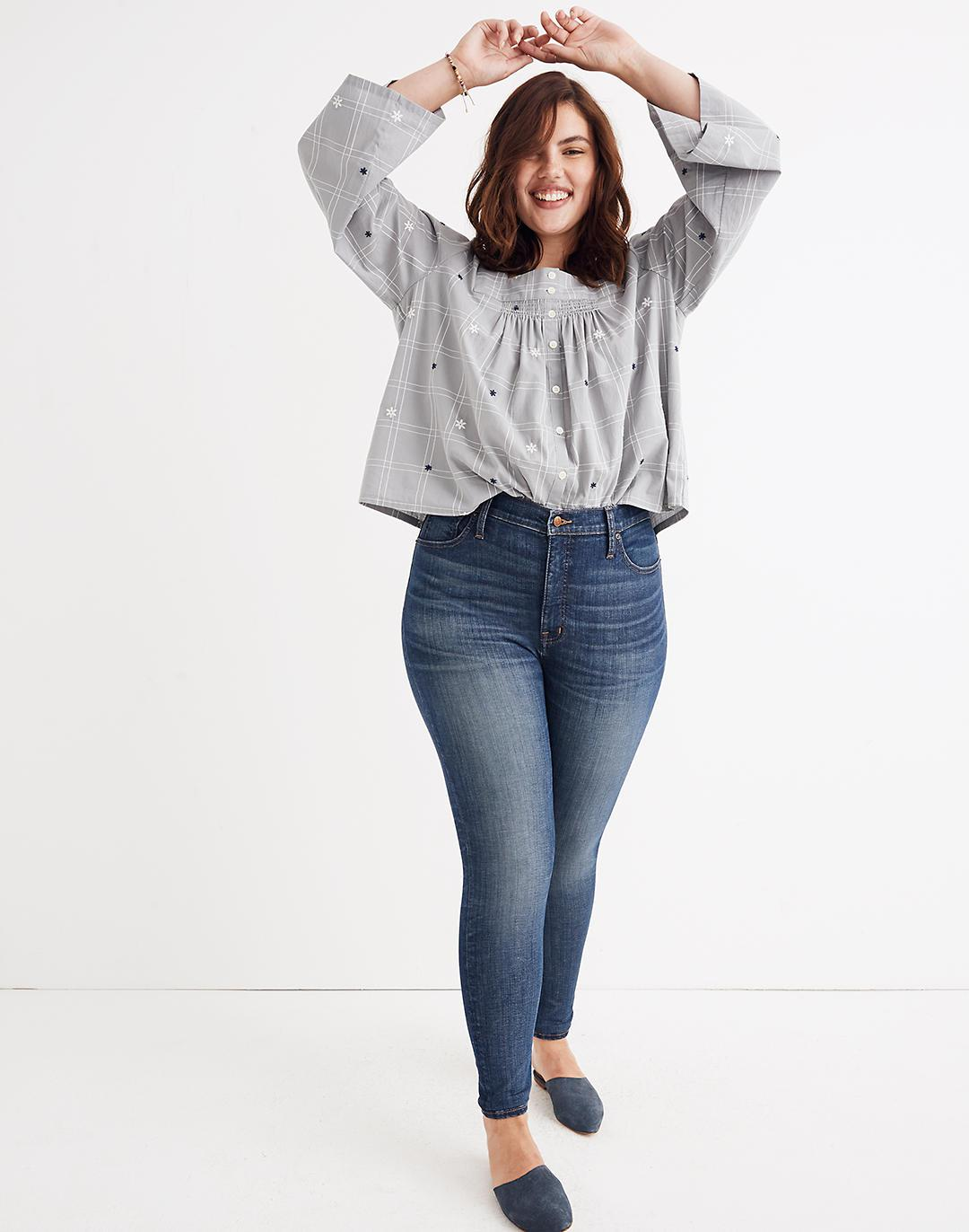 High-Rise Skinny Jeans: Adjustable Edition (Sizes 33-37)
