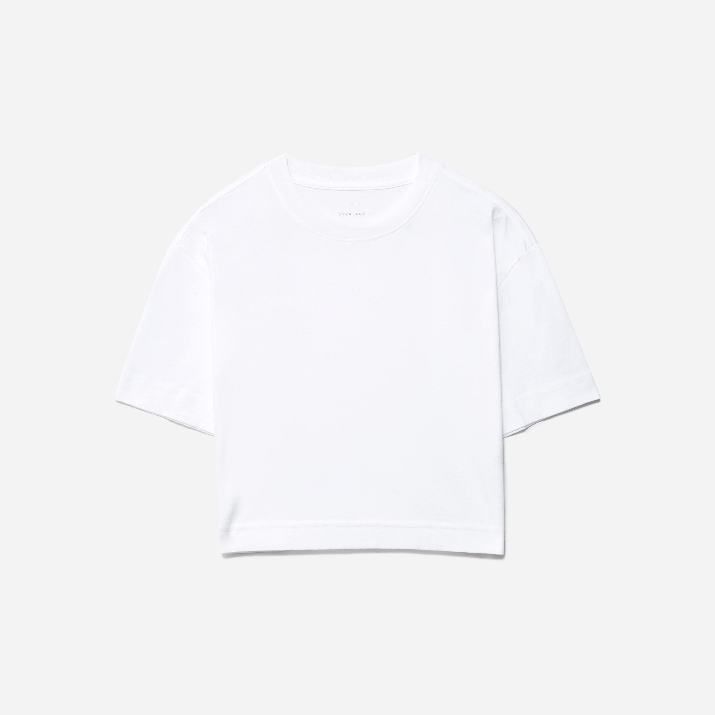 The Organic Cotton Cropped Tee 3