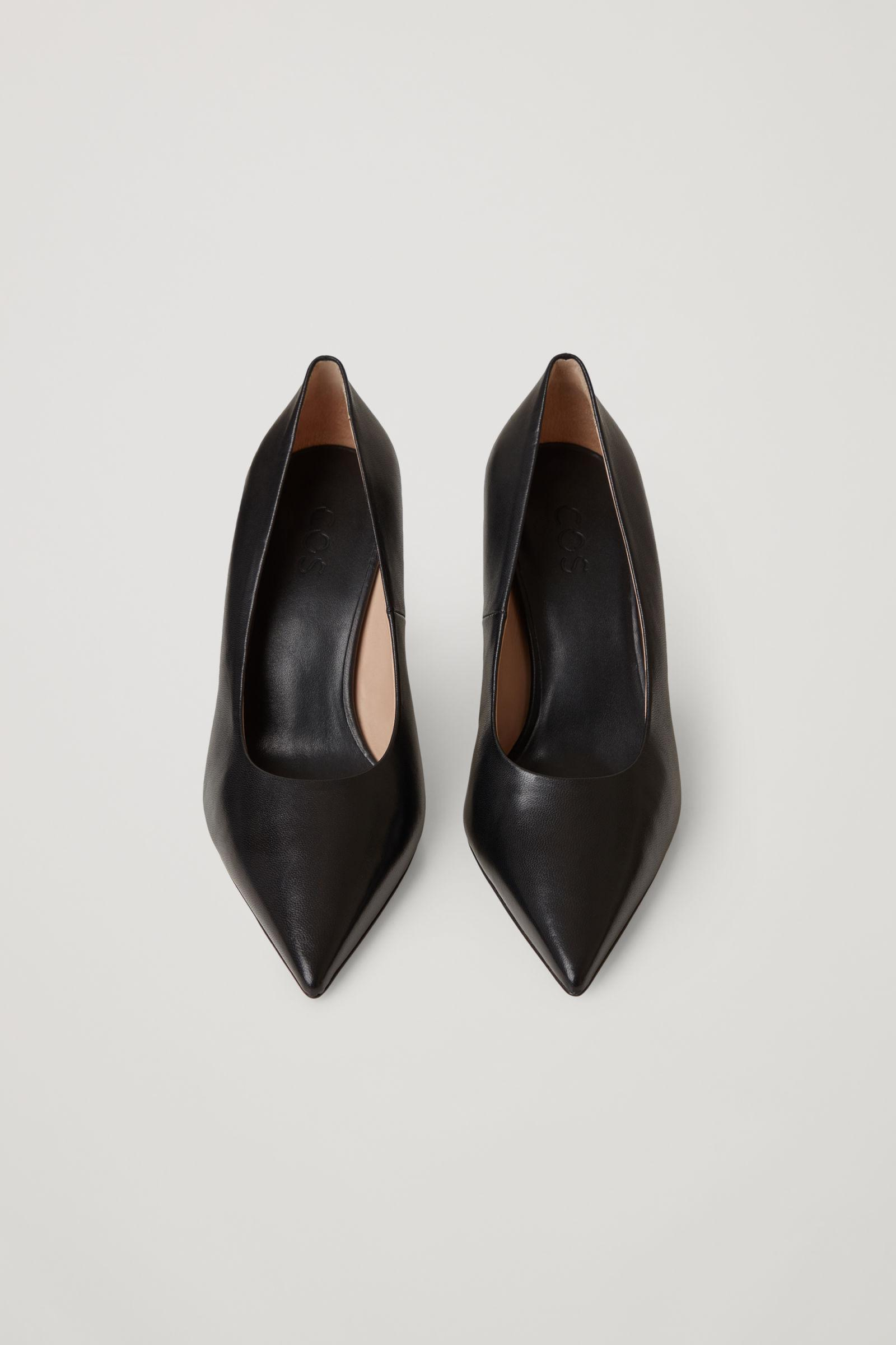 POINTED LEATHER HIGH HEELS 3