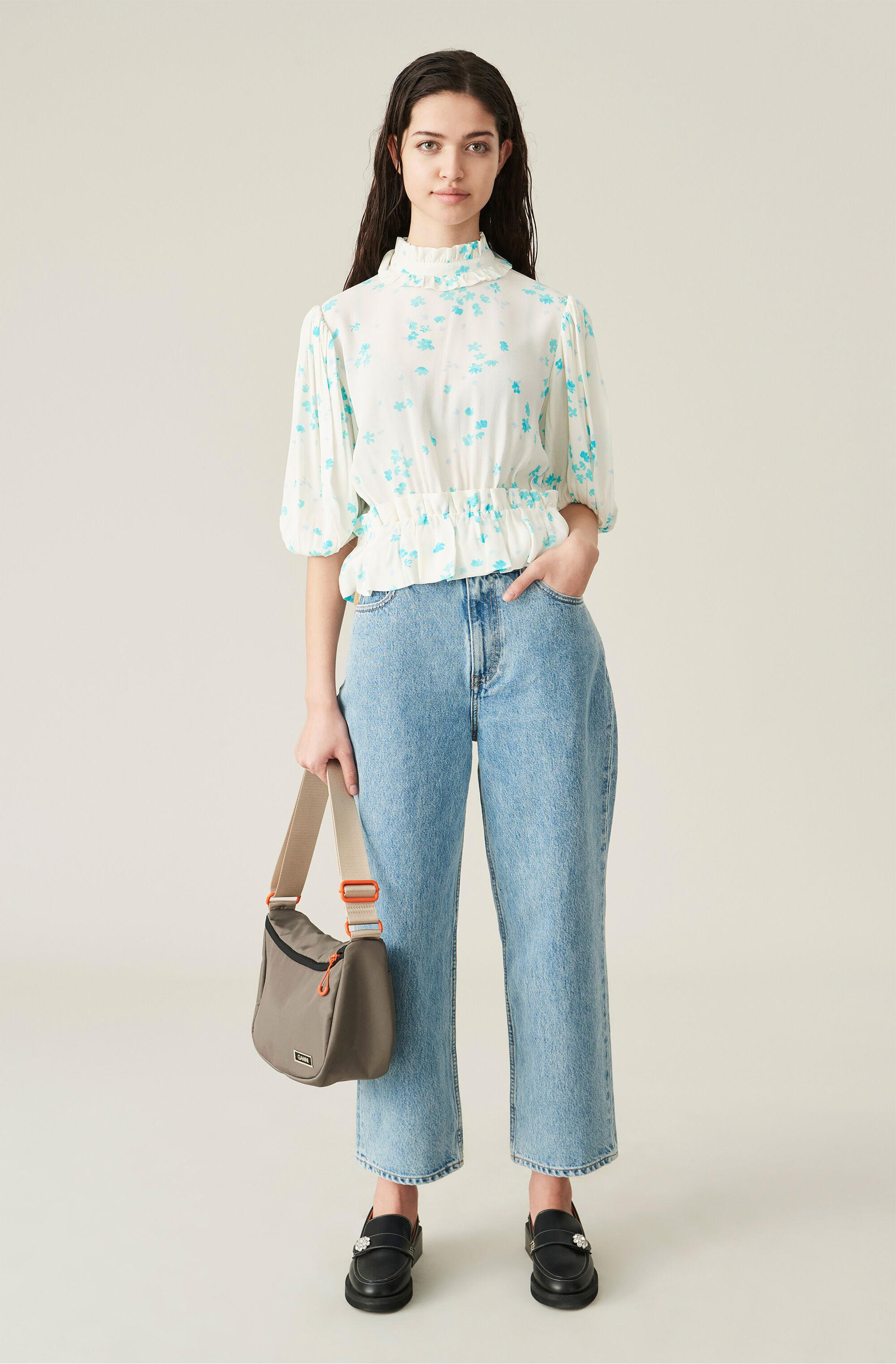 Relaxed High-Rise Straight Jeans