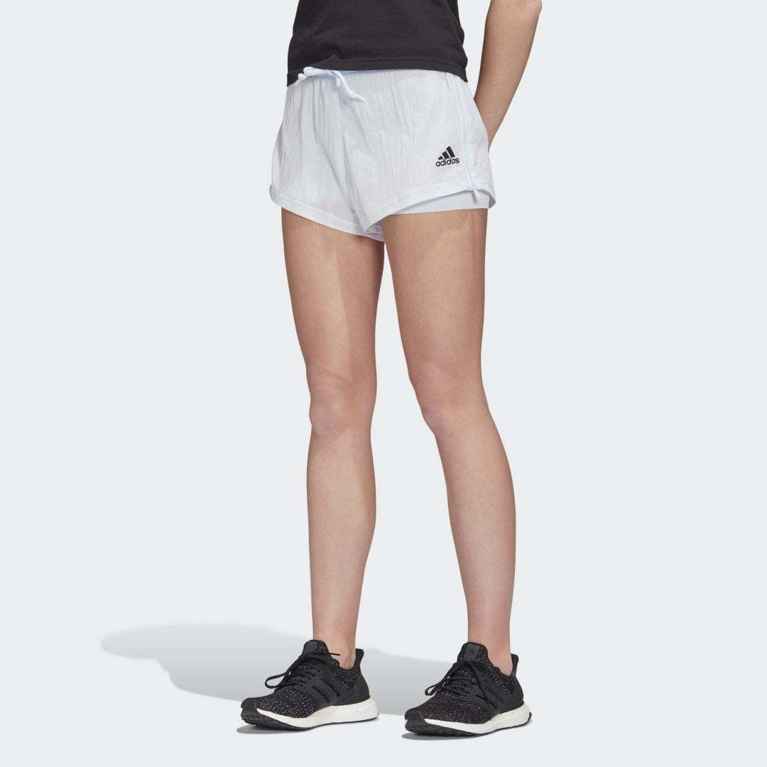 Two-in-One Mesh Shorts Sky Tint