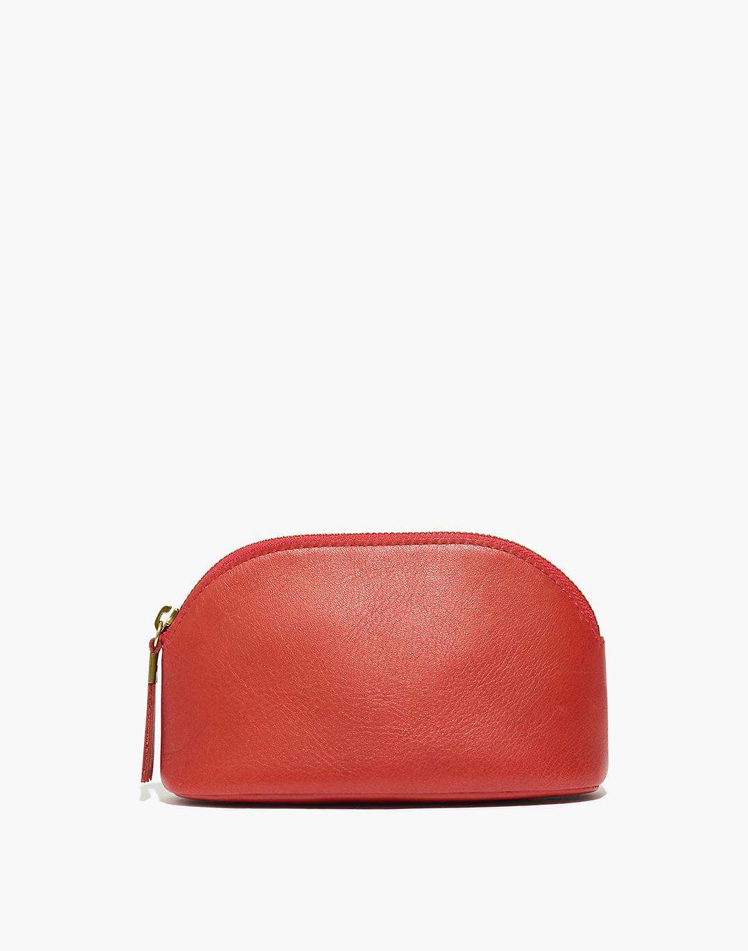 The Leather Makeup Pouch