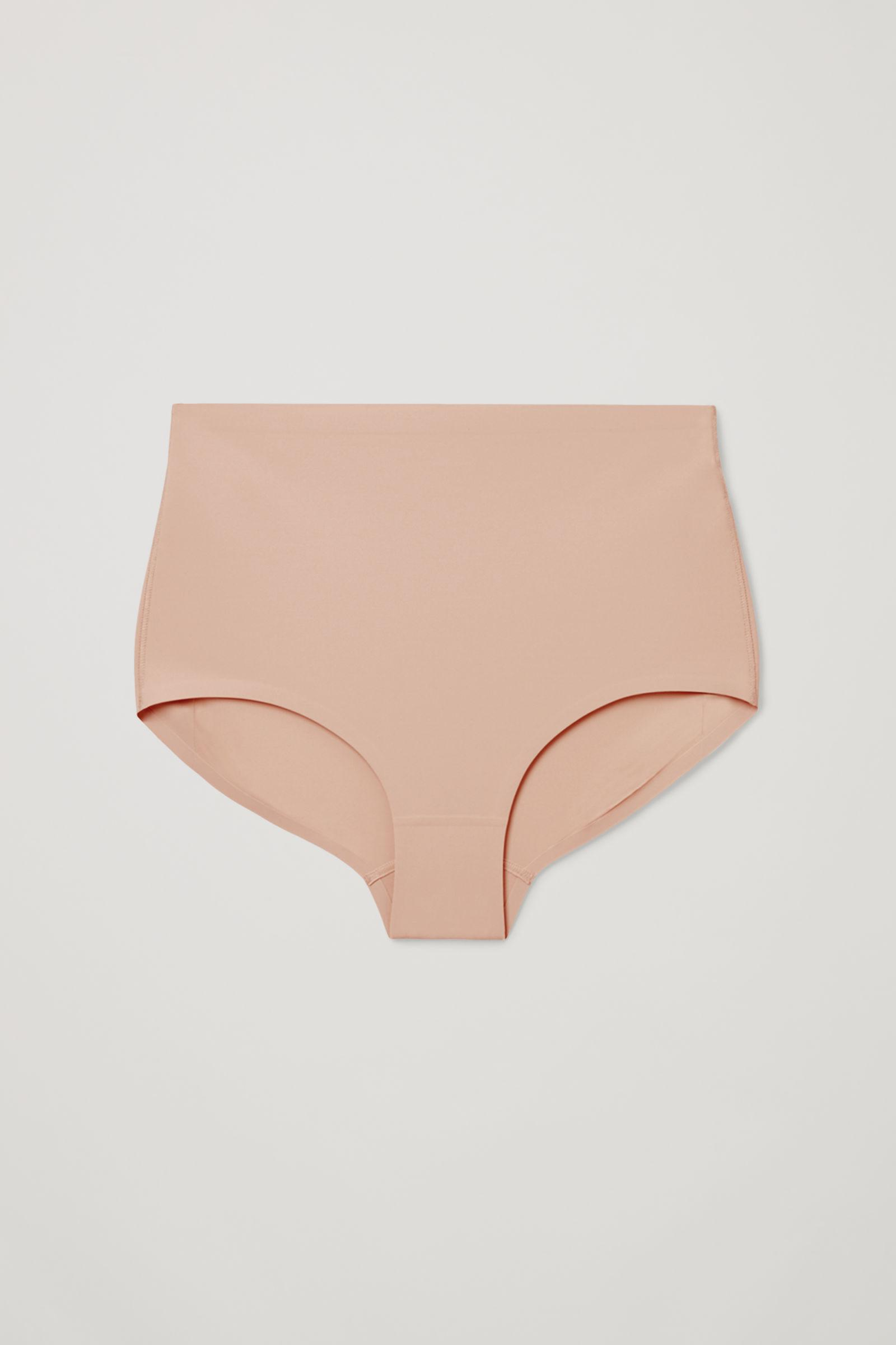 CONTROL HIGH-WAISTED RECYCLED NYLON BRIEFS 3