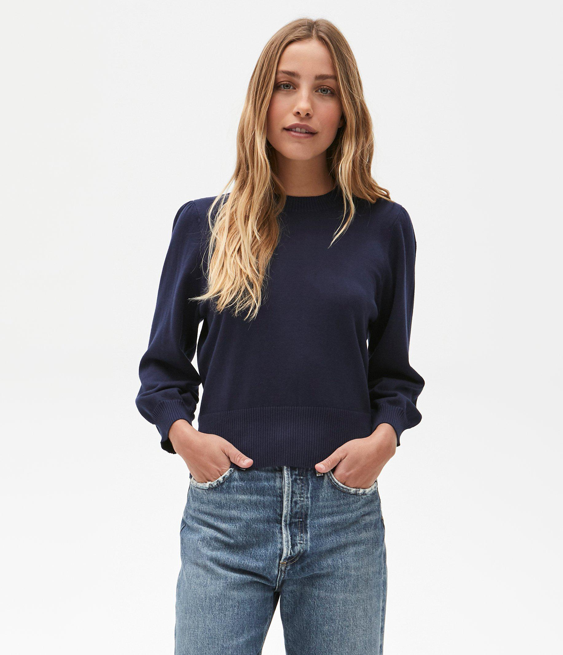 Dolly Puff Sleeve Sweater