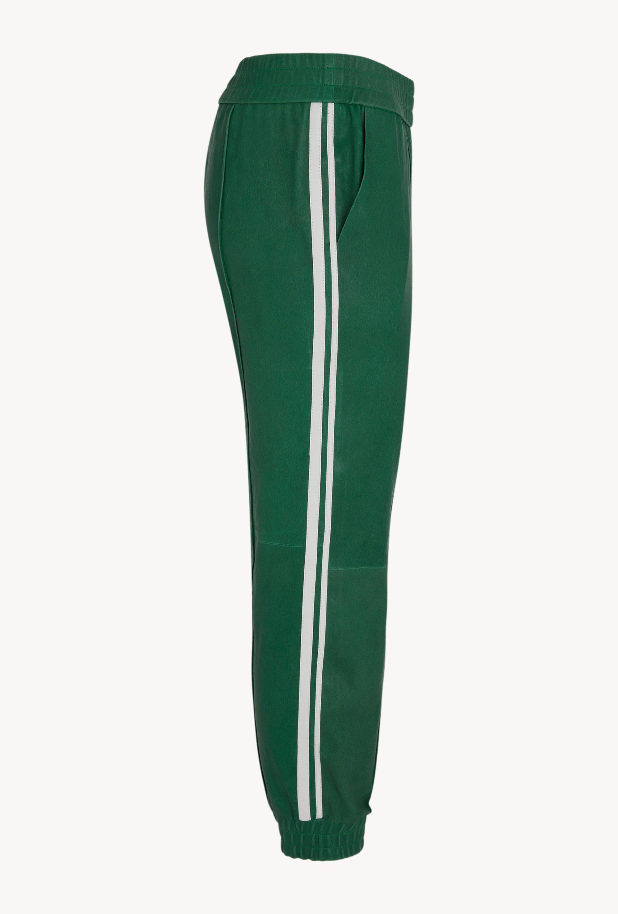 Evergreen Athletic Slim Fit Leather Jogger