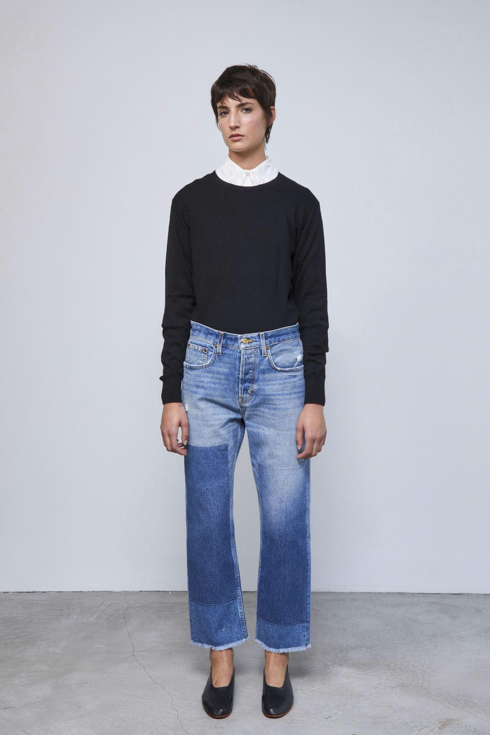 Marcel Relaxed Straight Jean Murray Vintage Patchwork No.2 1