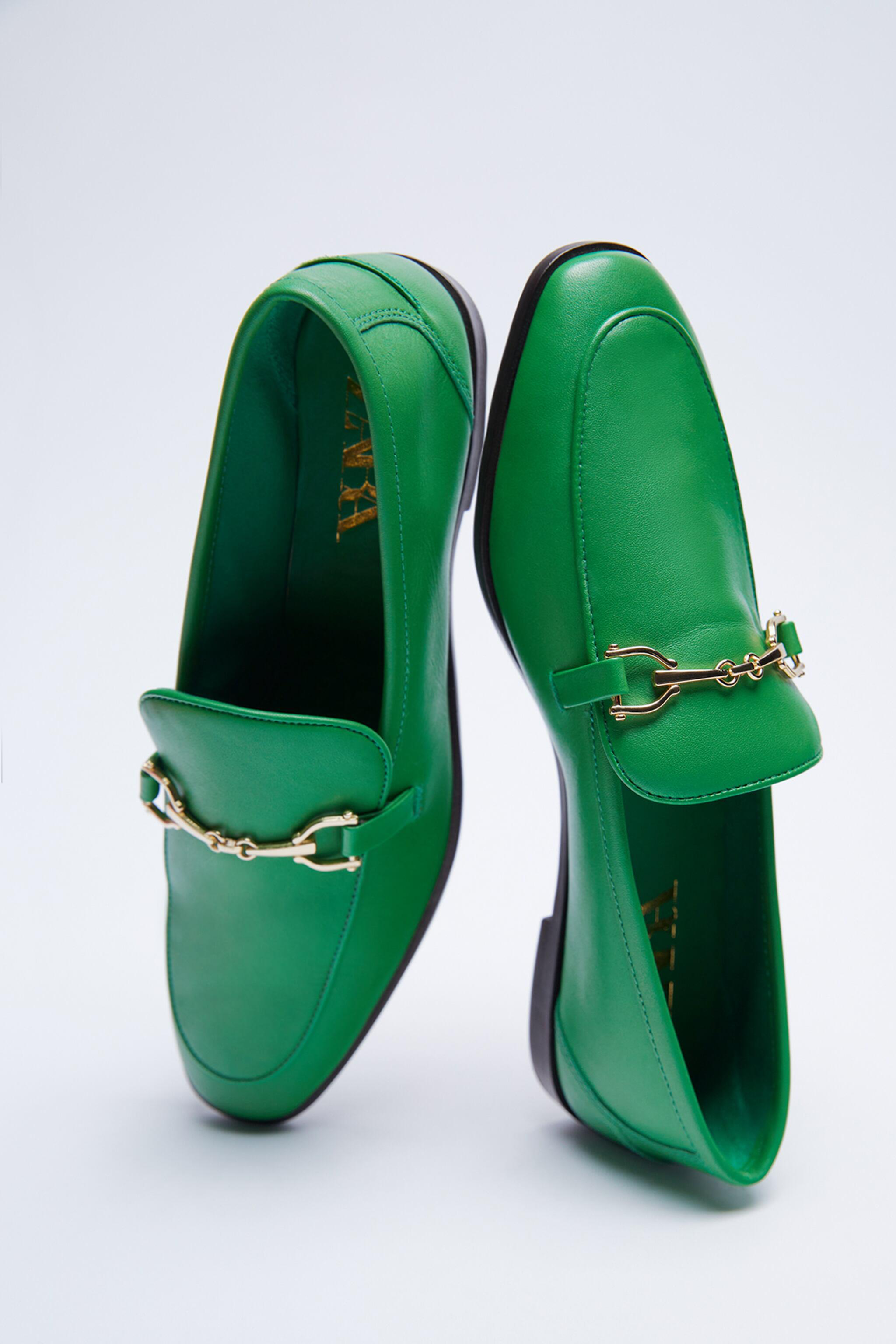 BUCKLED LEATHER LOAFERS 5