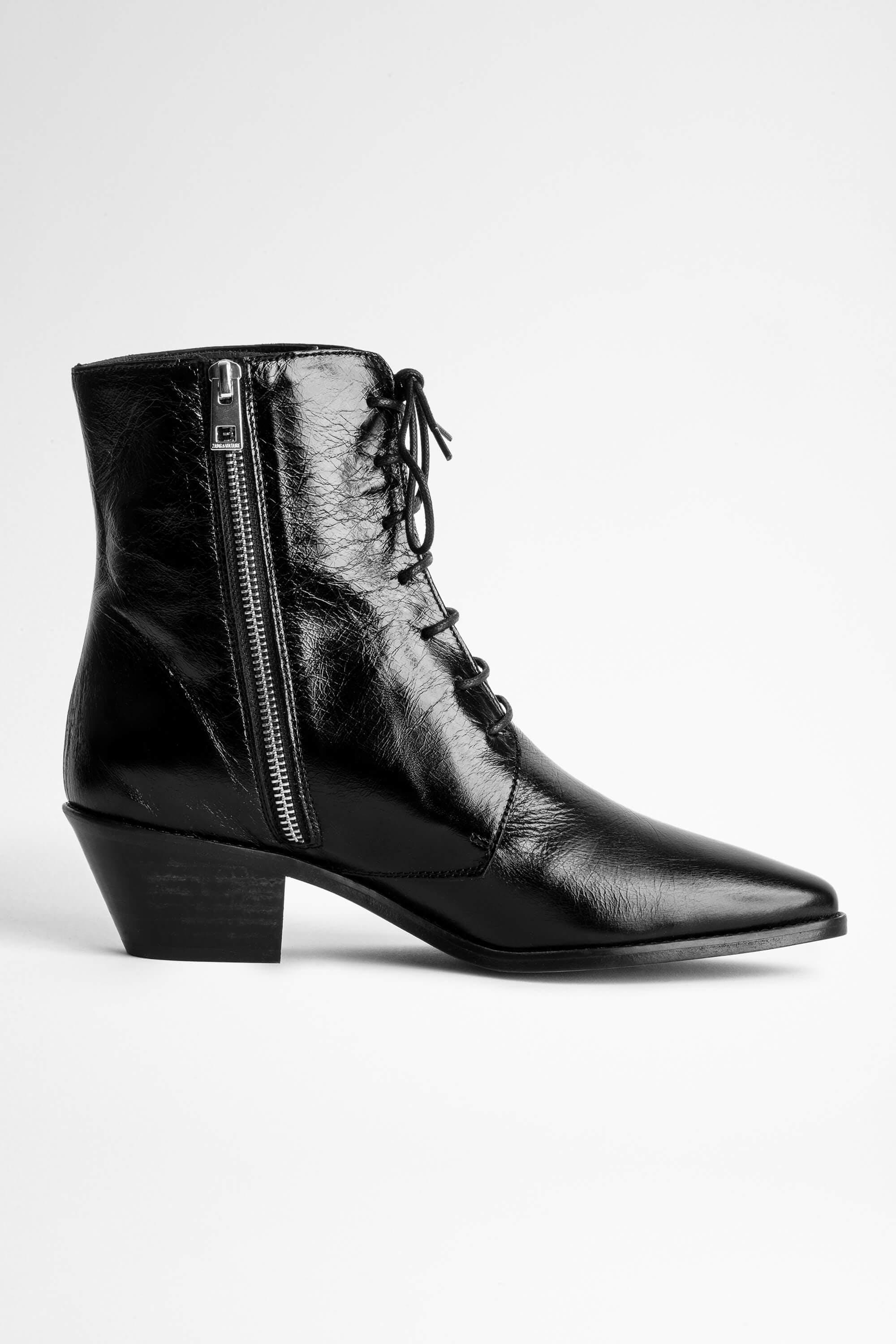 Tyler Laced Vintage Ankle Boots 1