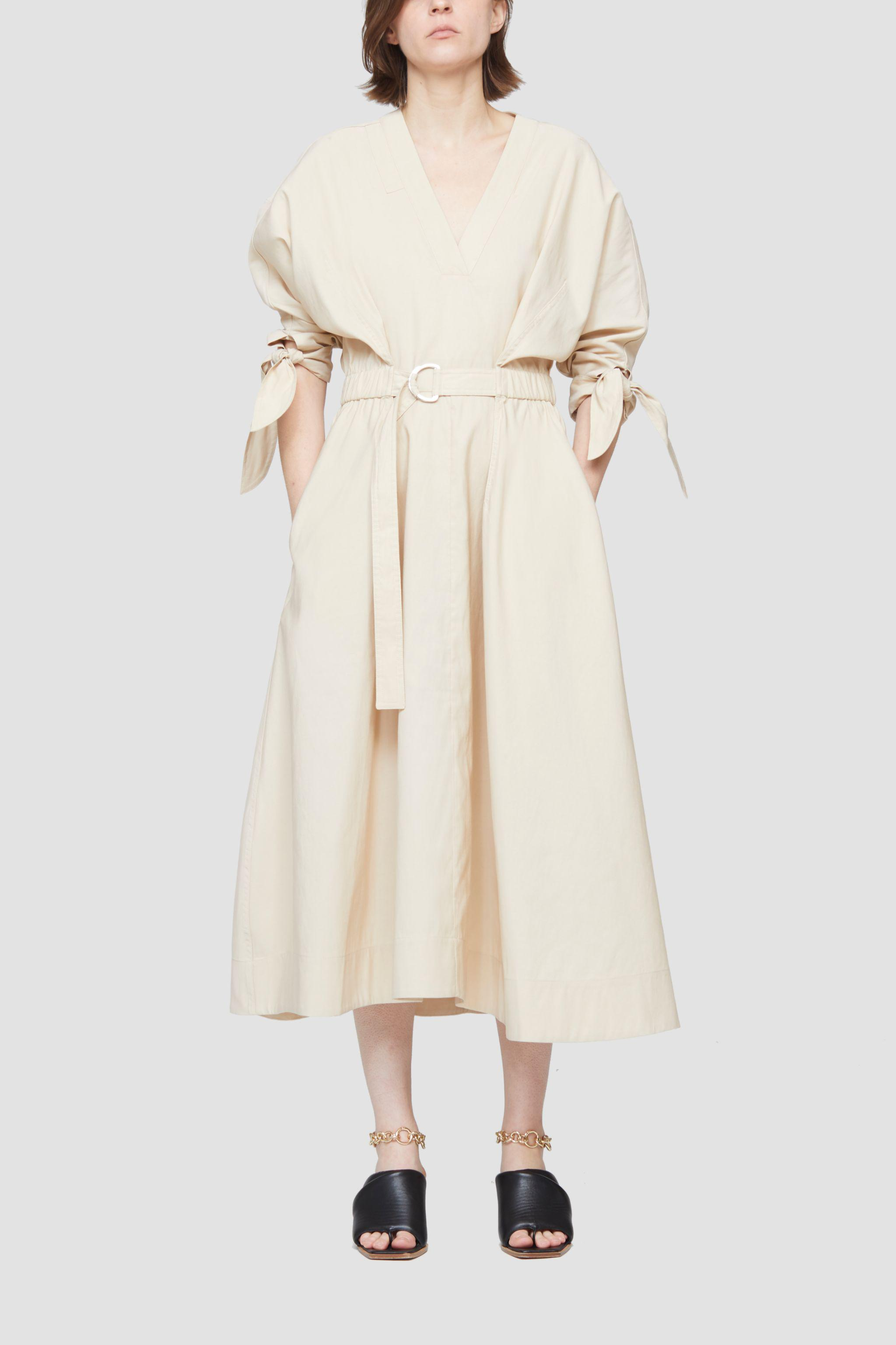 Belted Mid Length Dress 1