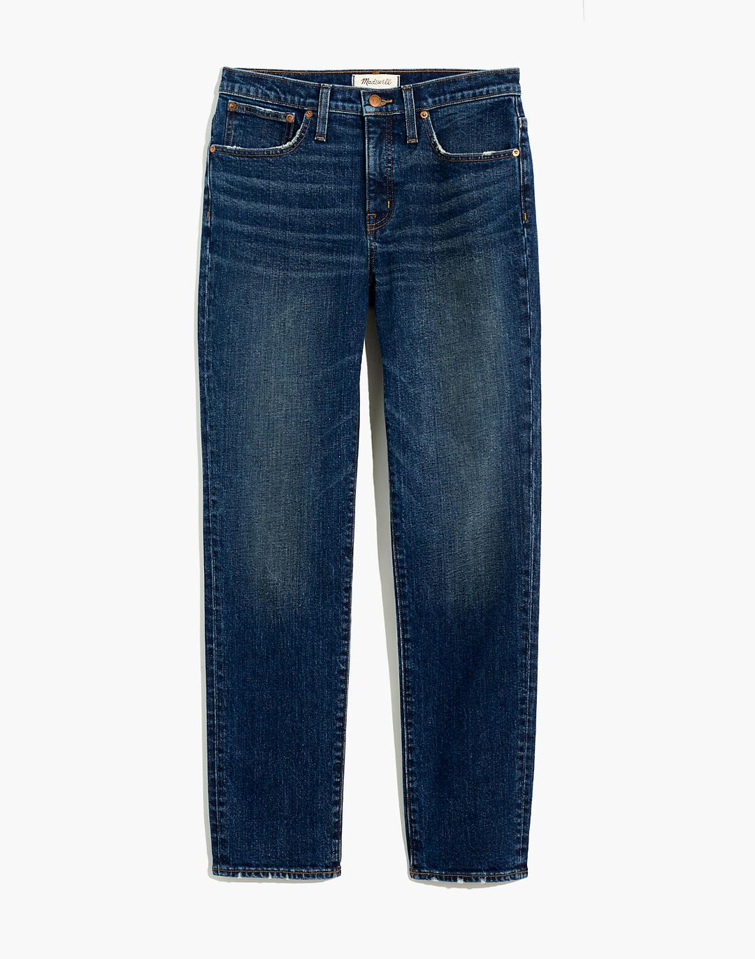 Tomboy Straight Jeans in Chaseley Wash 5