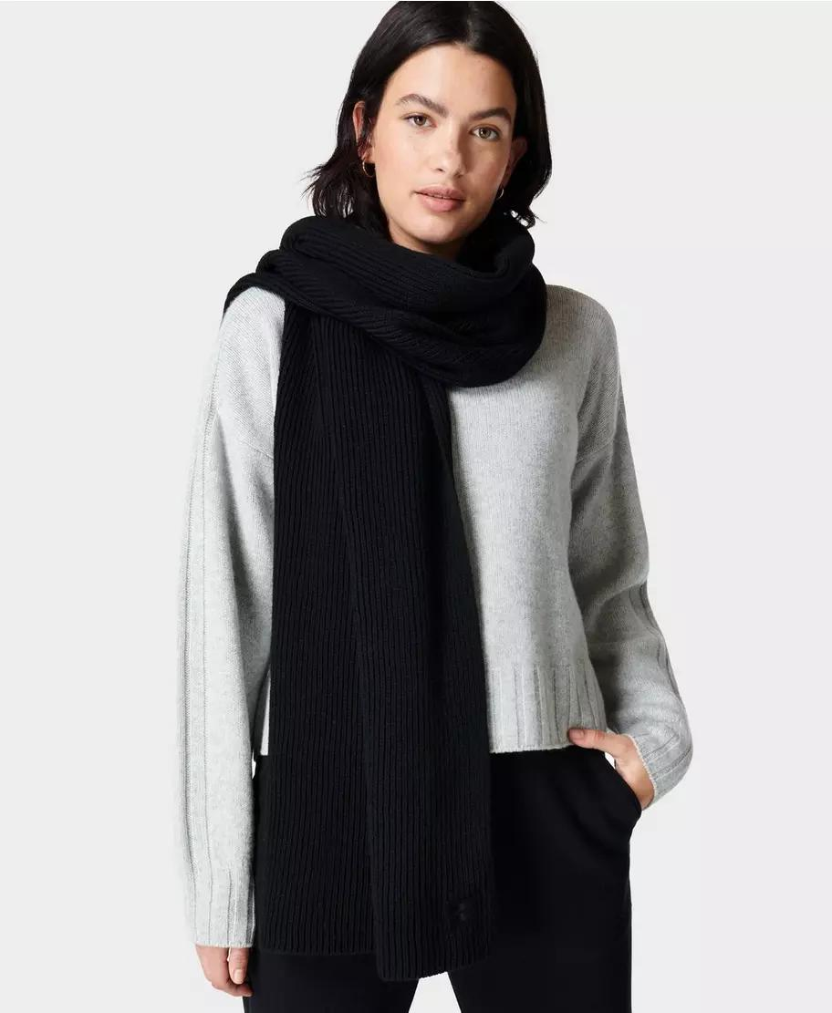 Texture Merino Knitted Scarf
