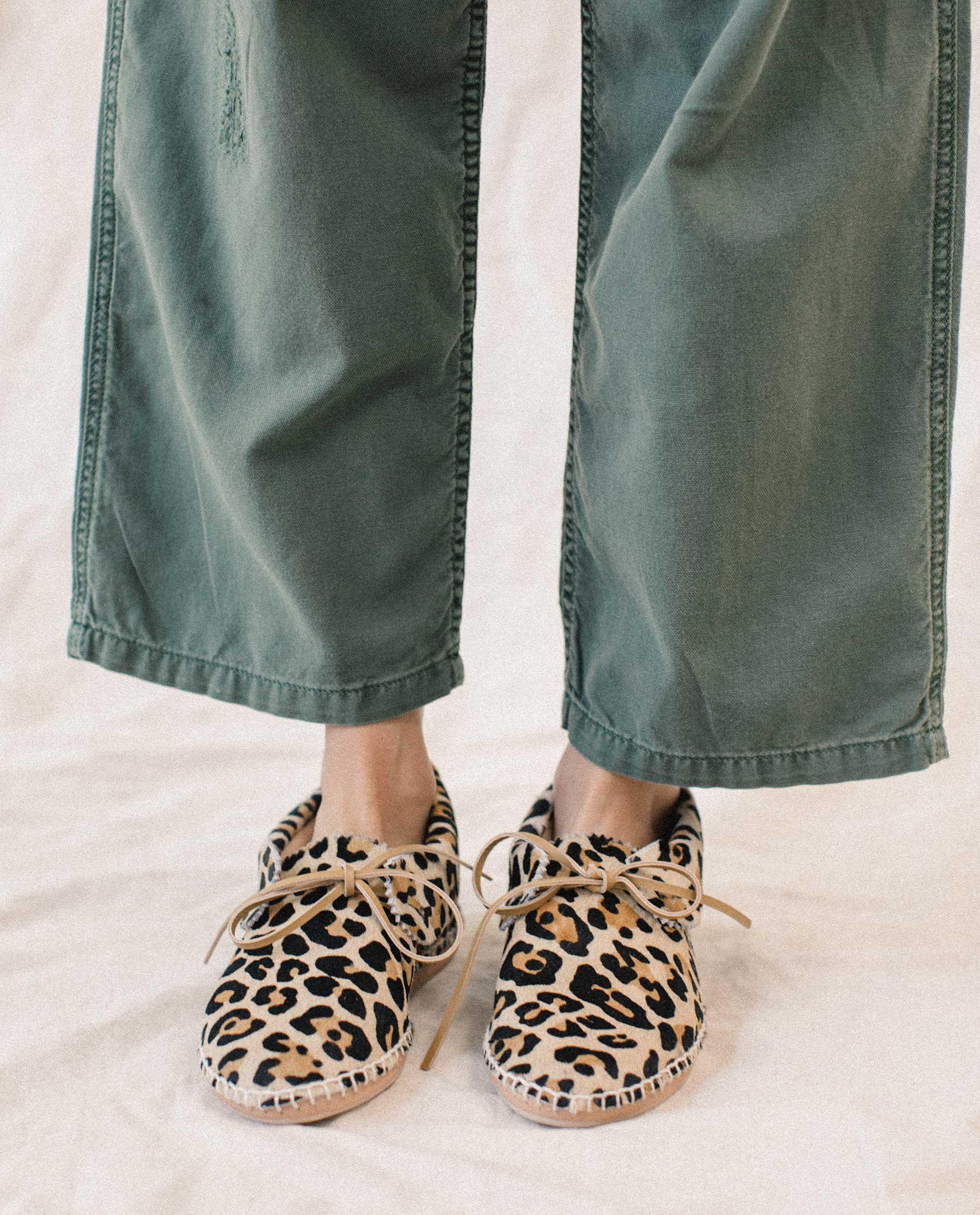 The Canyon Moccasin. -- LEOPARD 3