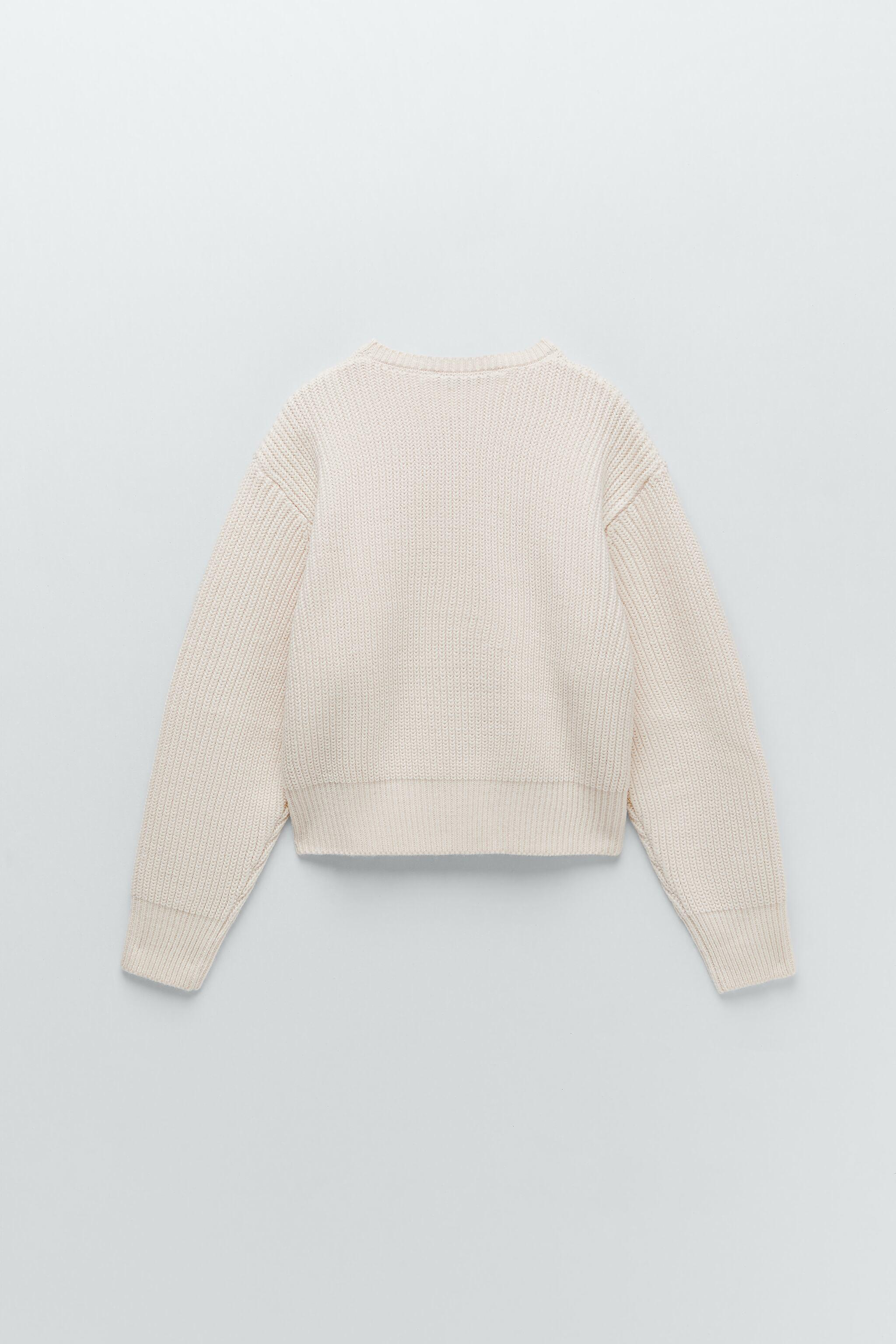 CROPPED LONG SLEEVE SWEATER 6