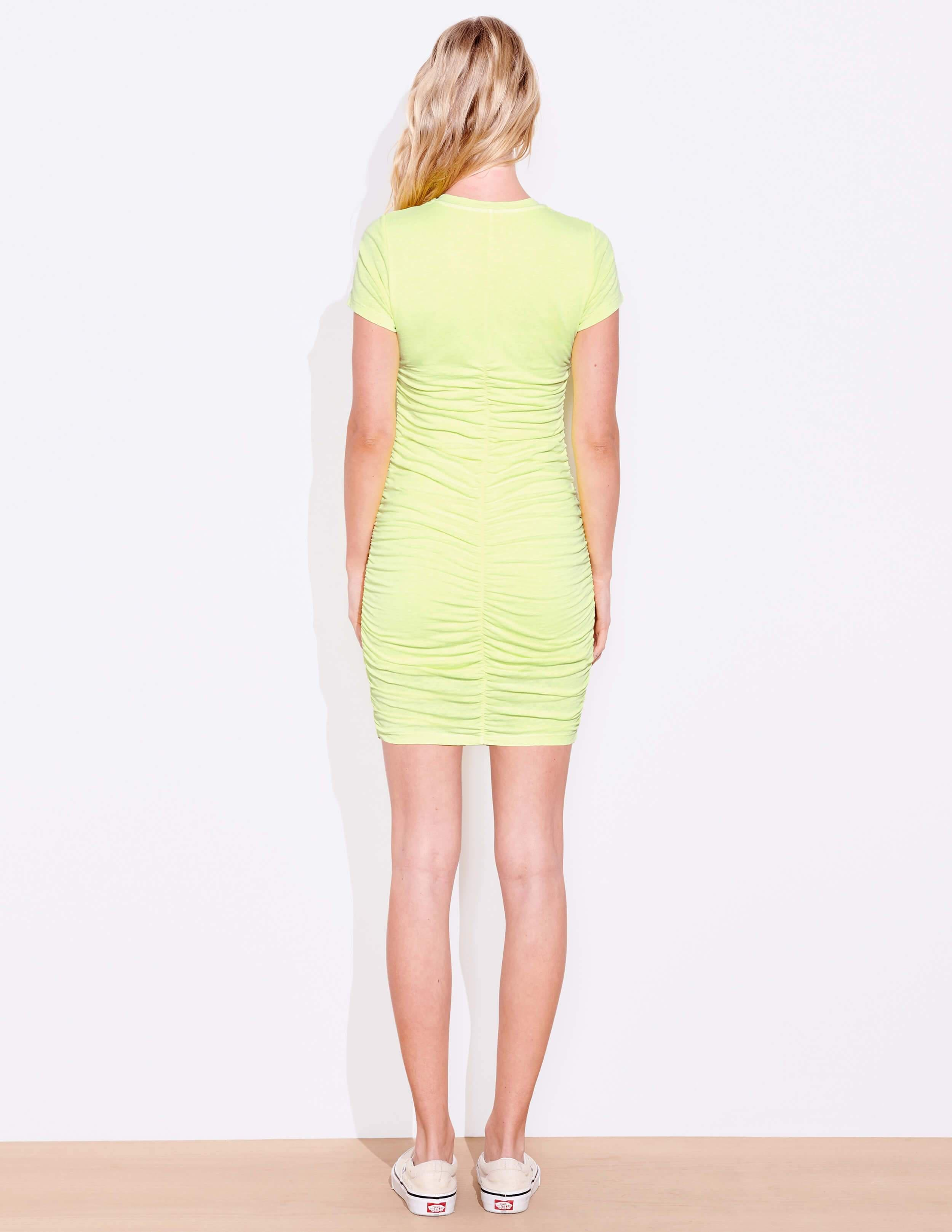 Short Sleeve Ruched Dress 3