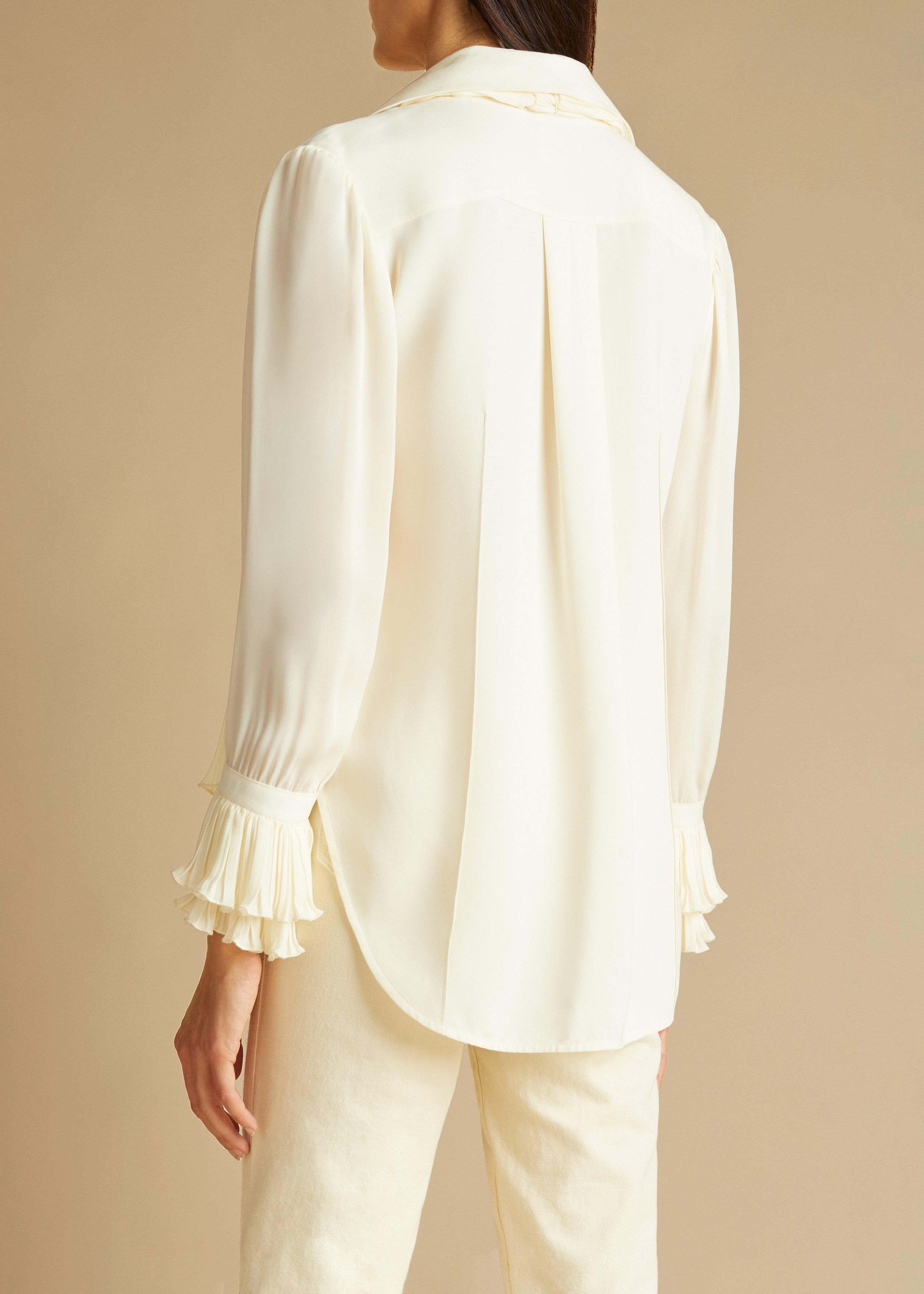 The Nia Top in Ivory 2