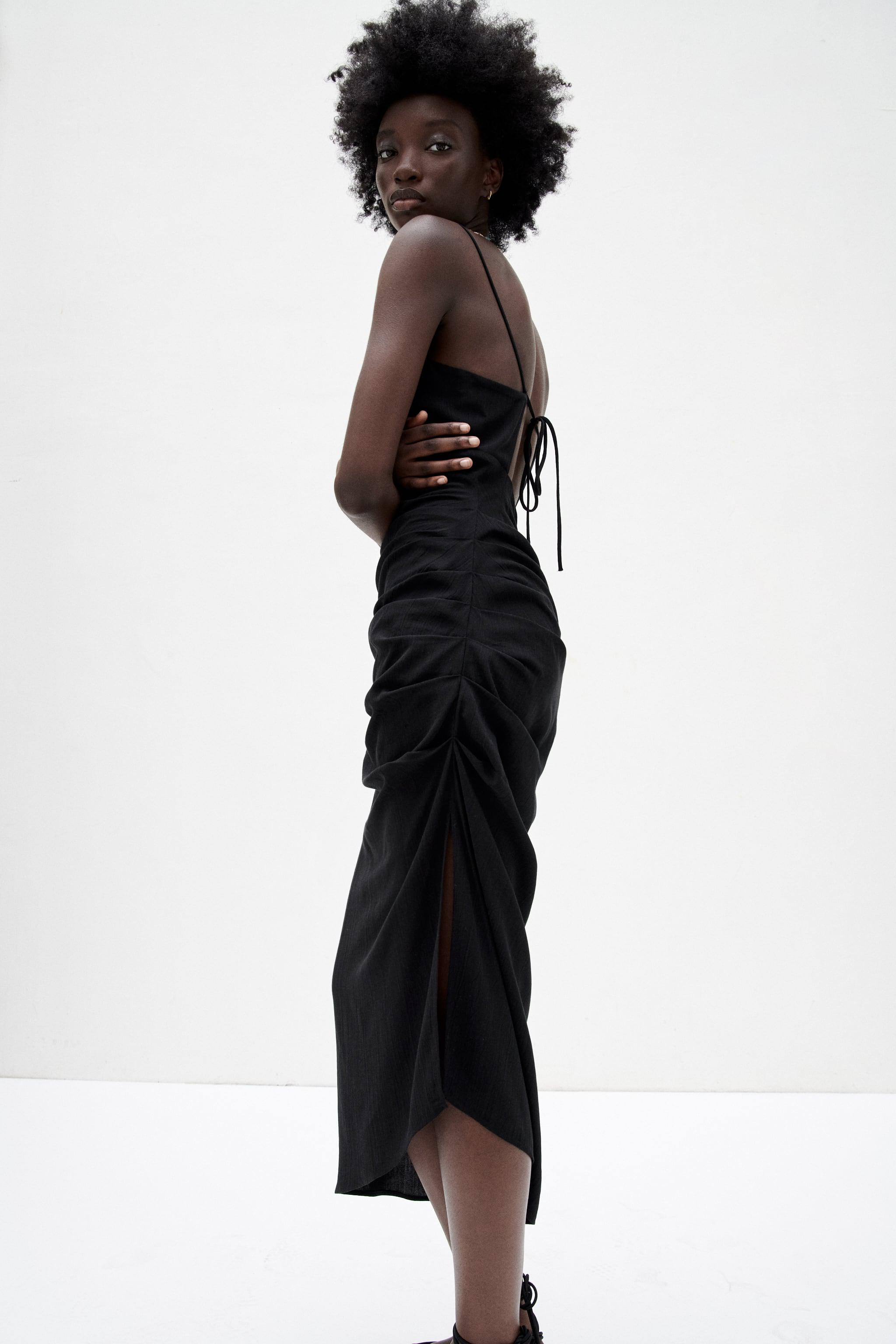 MIDI DRESS WITH OPEN BACK 3