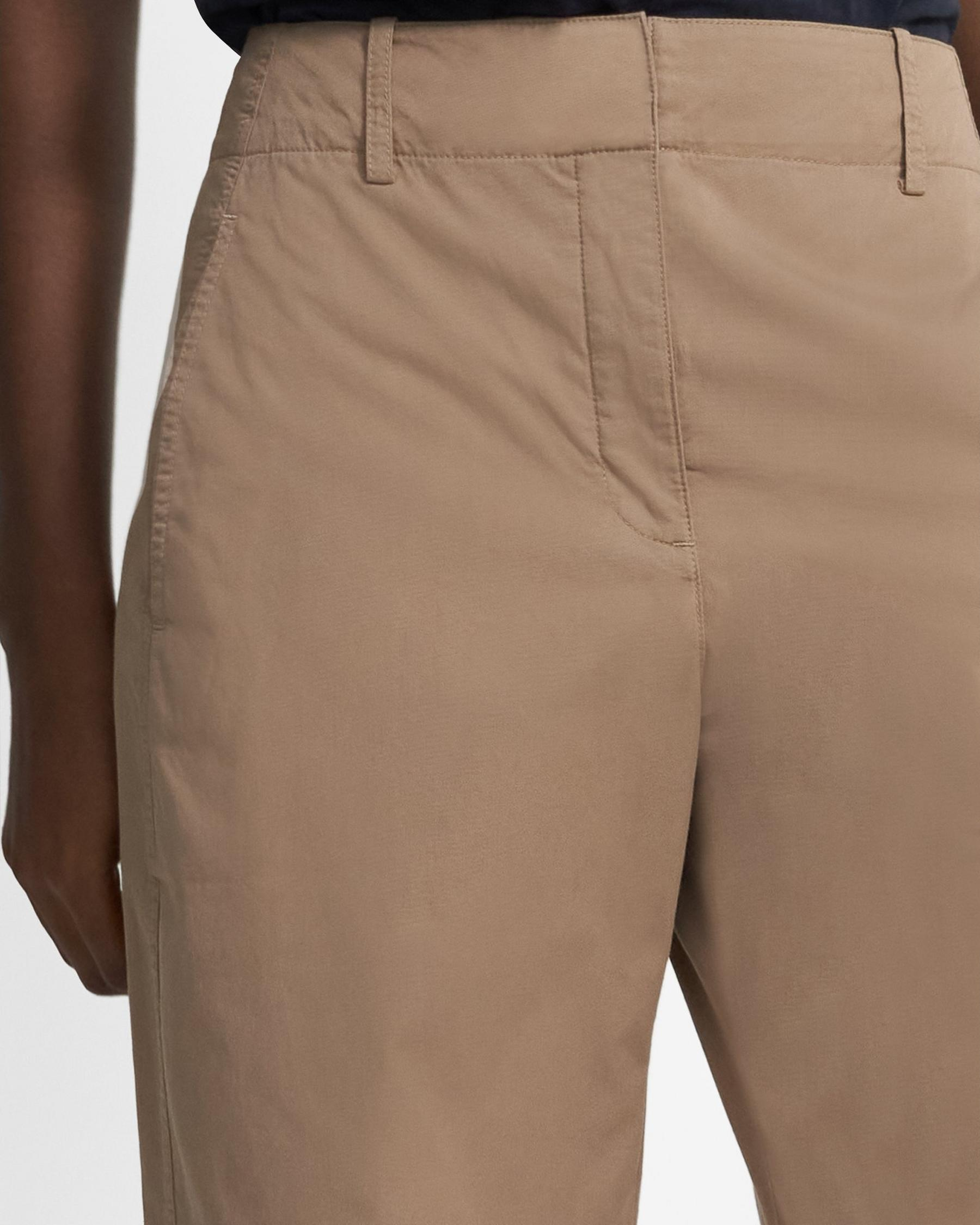 Curve Pant in Garment-Dyed Cotton 1