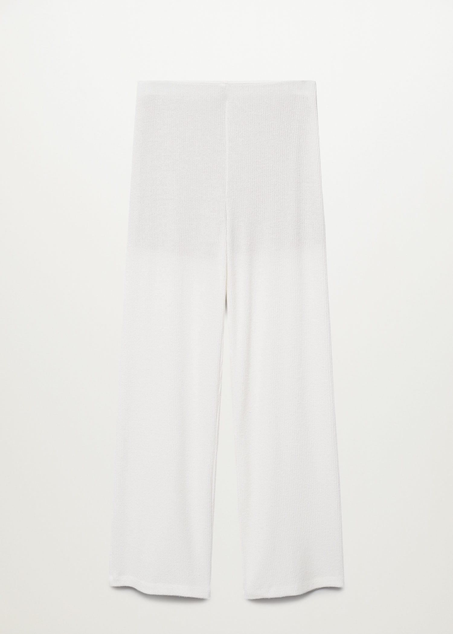 Ribbed soft trousers 6