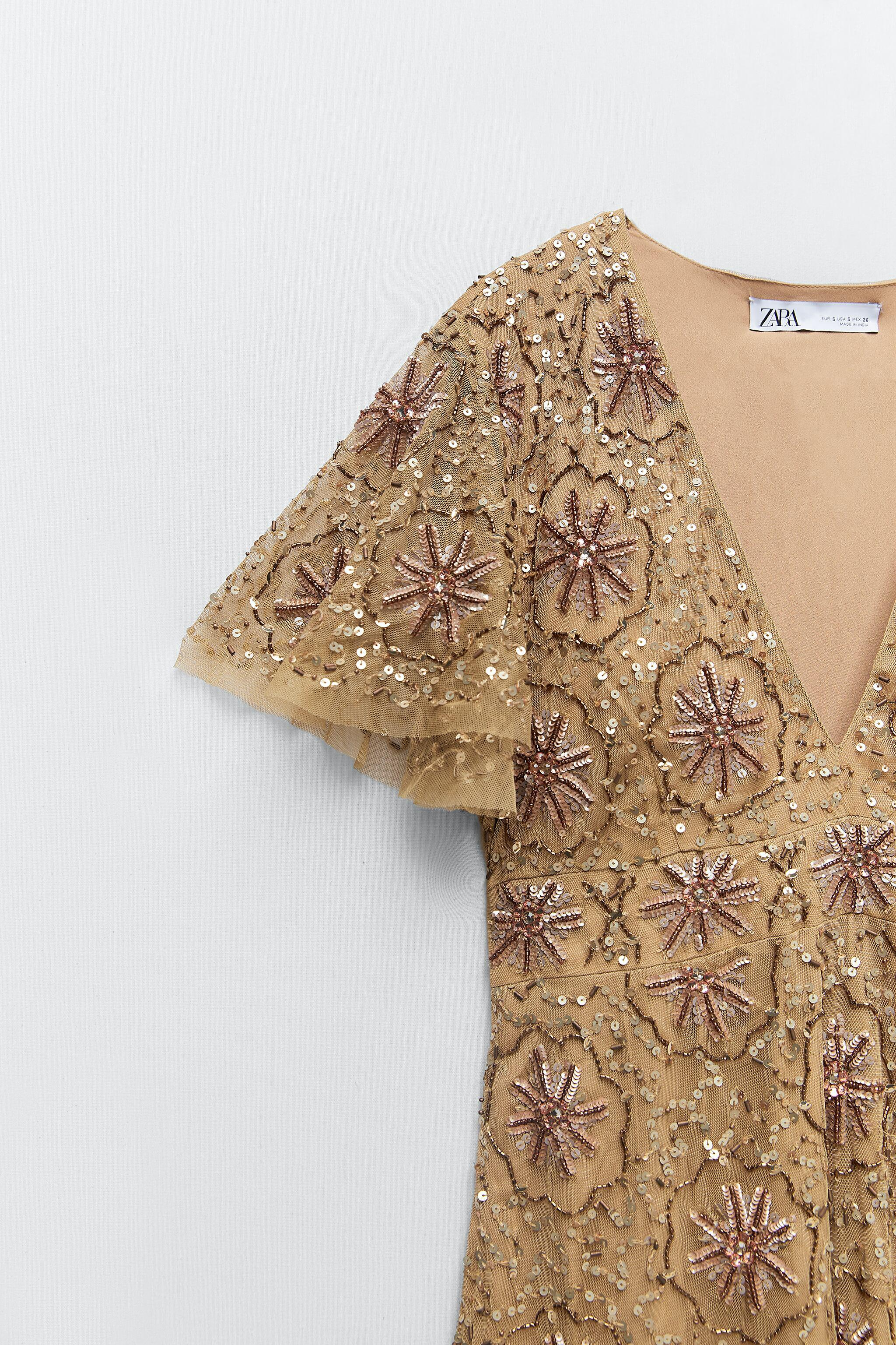 BEADED SPECIAL EDITION KNIT DRESS 8