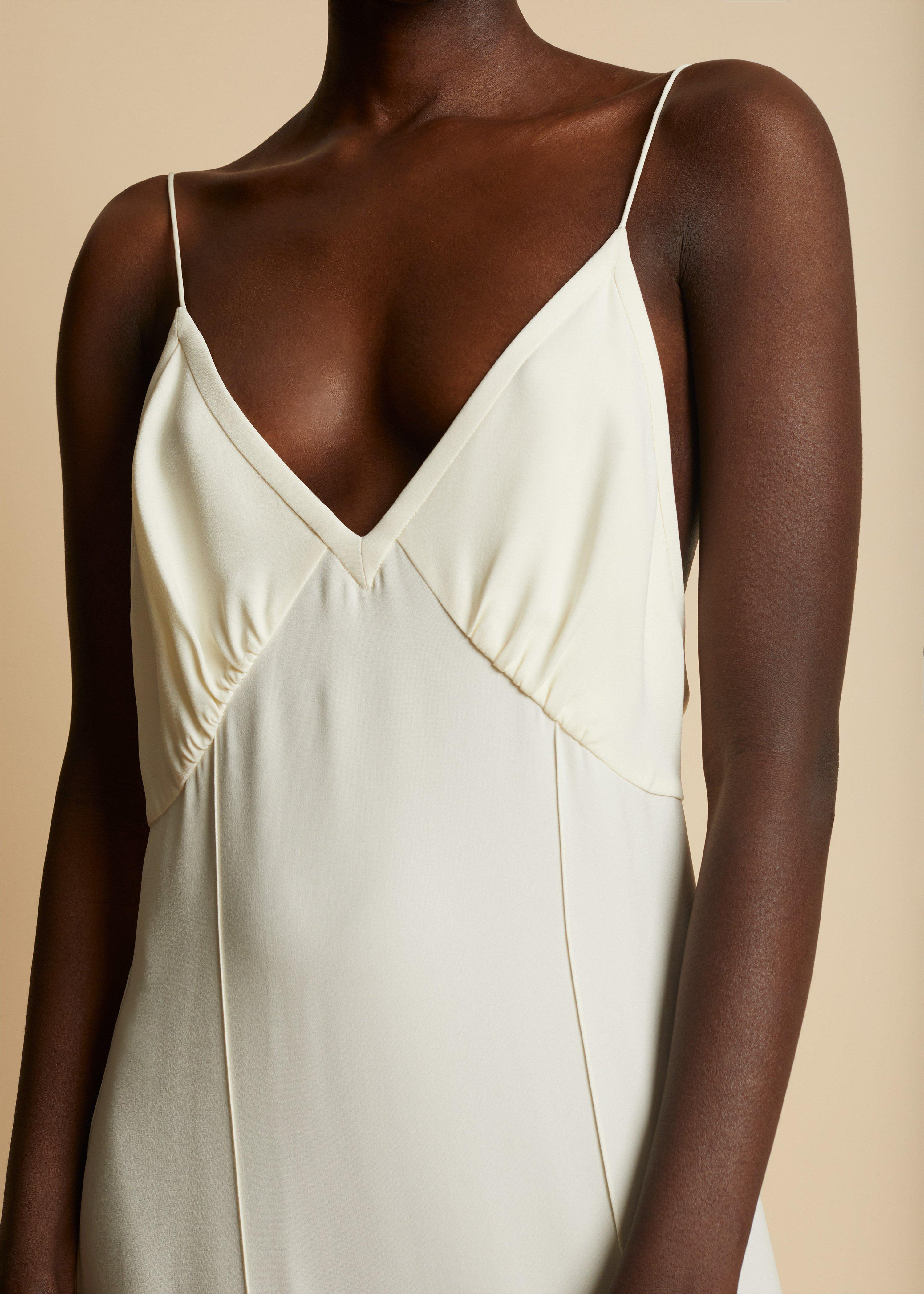 The Myrtle Dress in Ivory 4