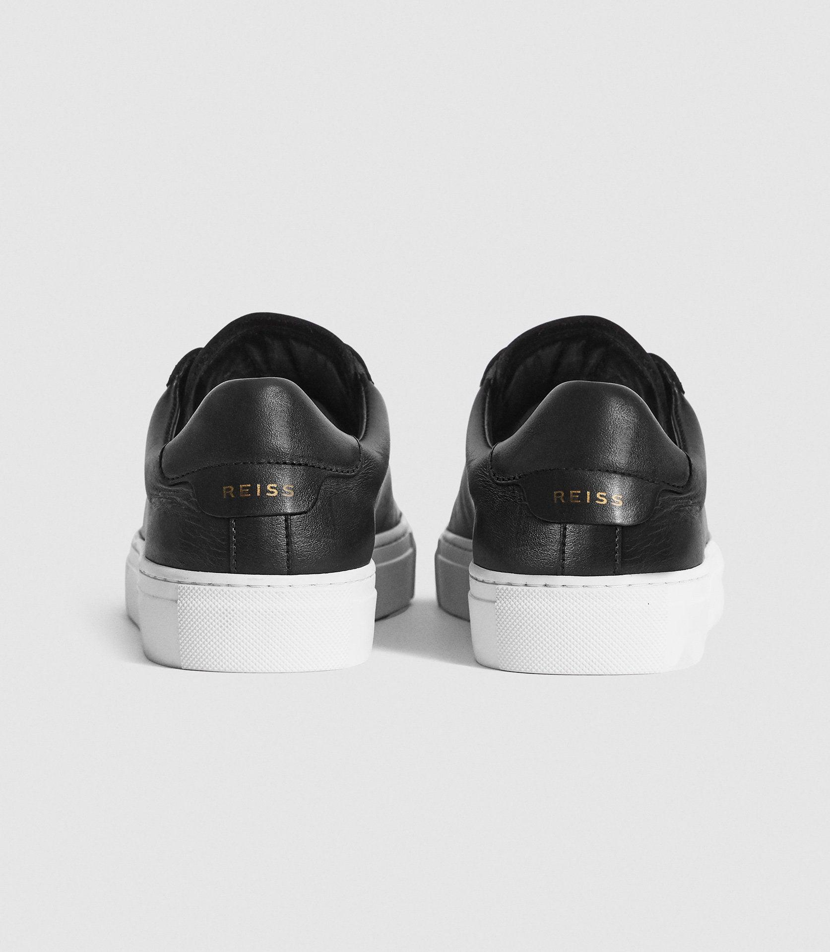FINLEY - LEATHER CONTRAST SOLE TRAINERS 3