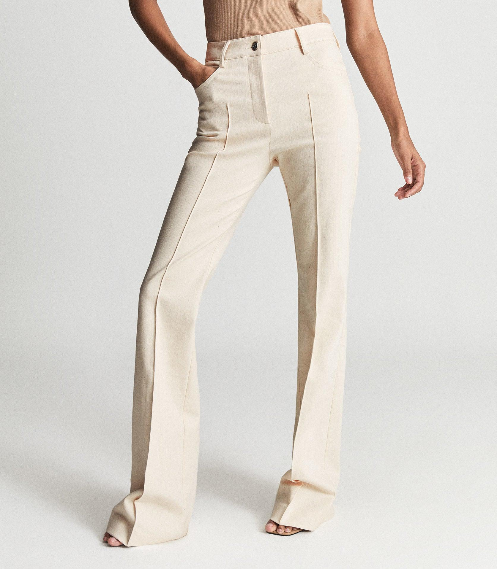 FLORENCE - HIGH RISE FLARED TROUSERS 1