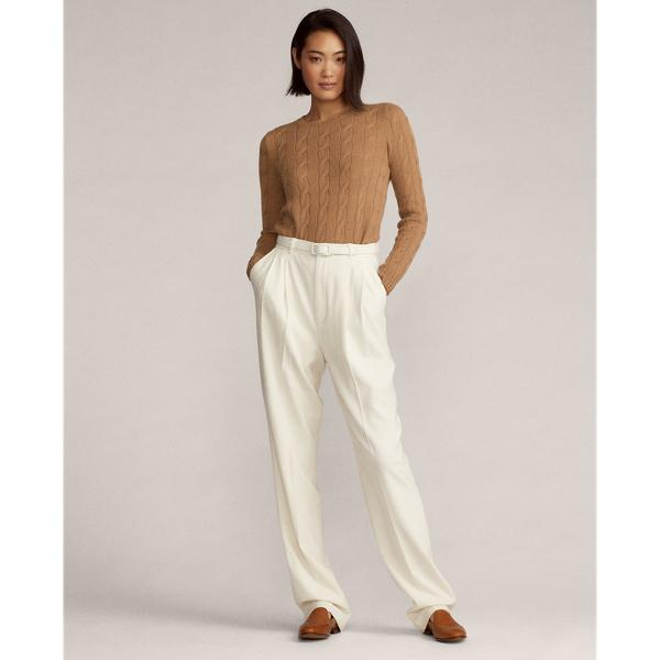Cable-Knit Cashmere Sweater 0