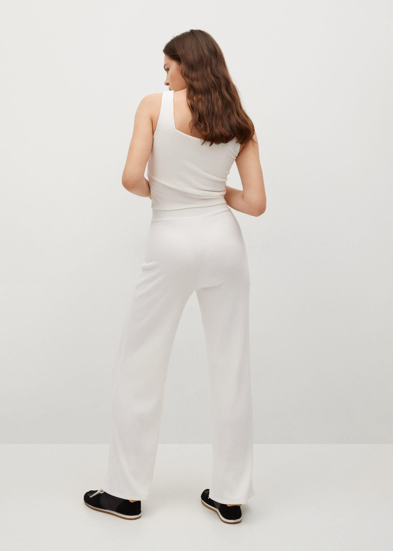 Ribbed knit trousers 2