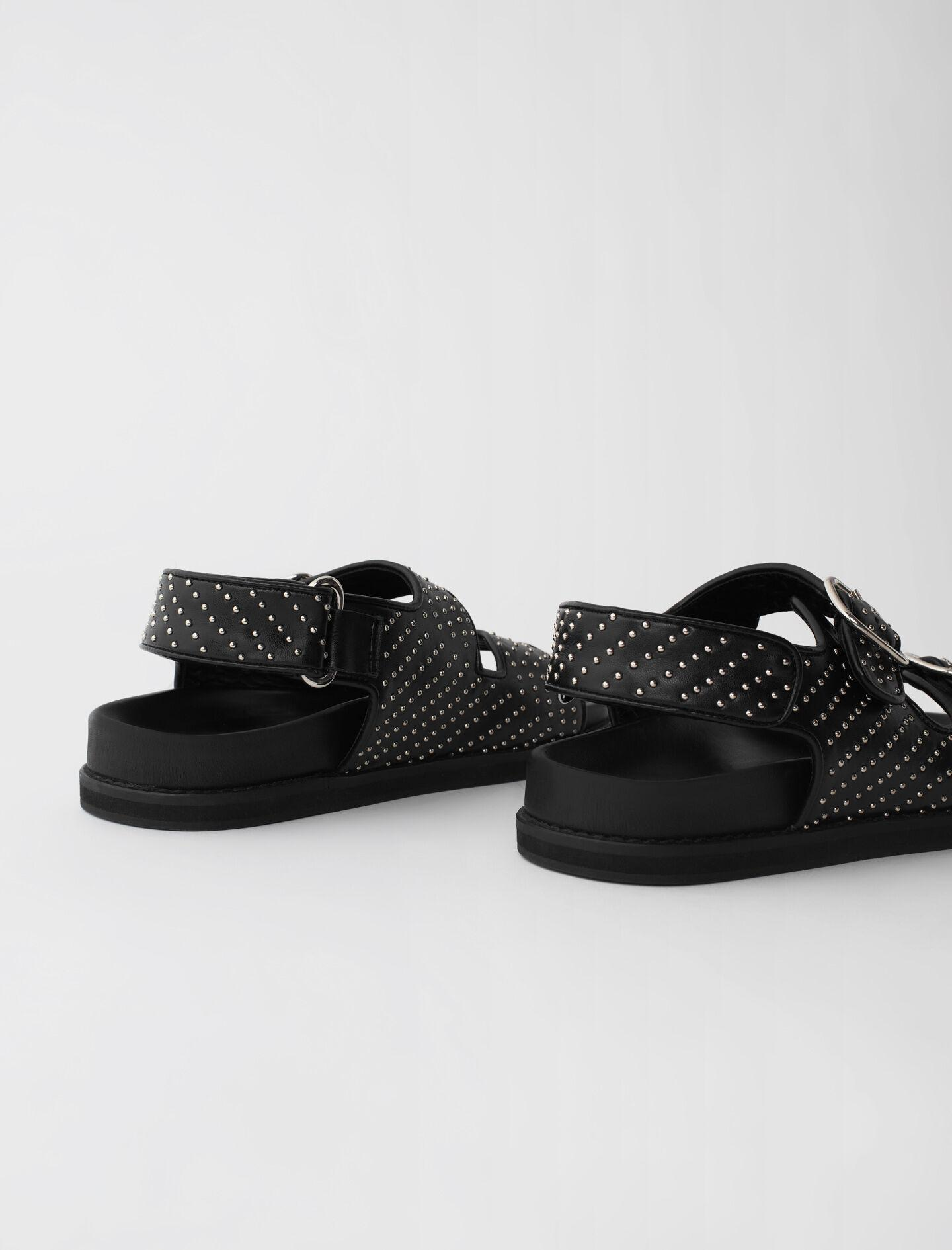 STUDDED SANDALS WITH BUCKLES 2