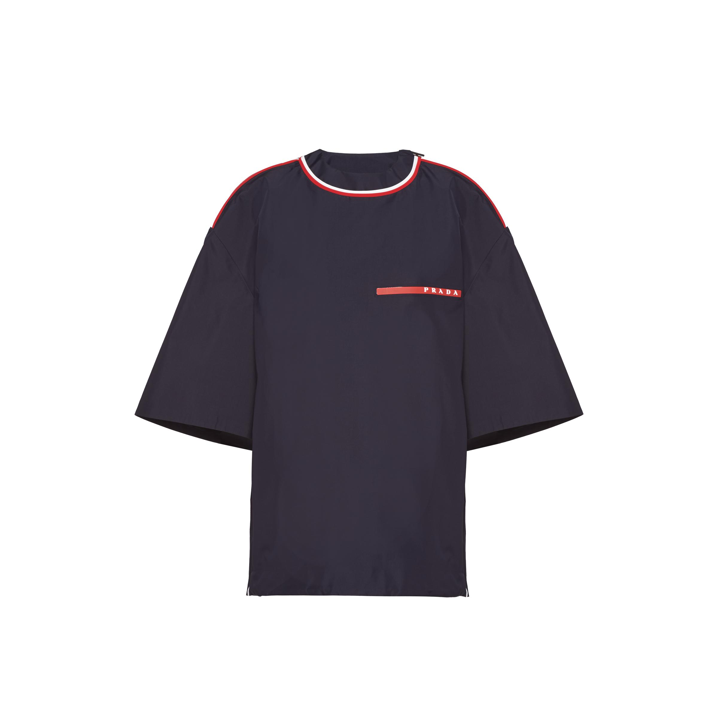 Extreme-tex Short-sleeved Top Women Navy Blue/chalk White/red
