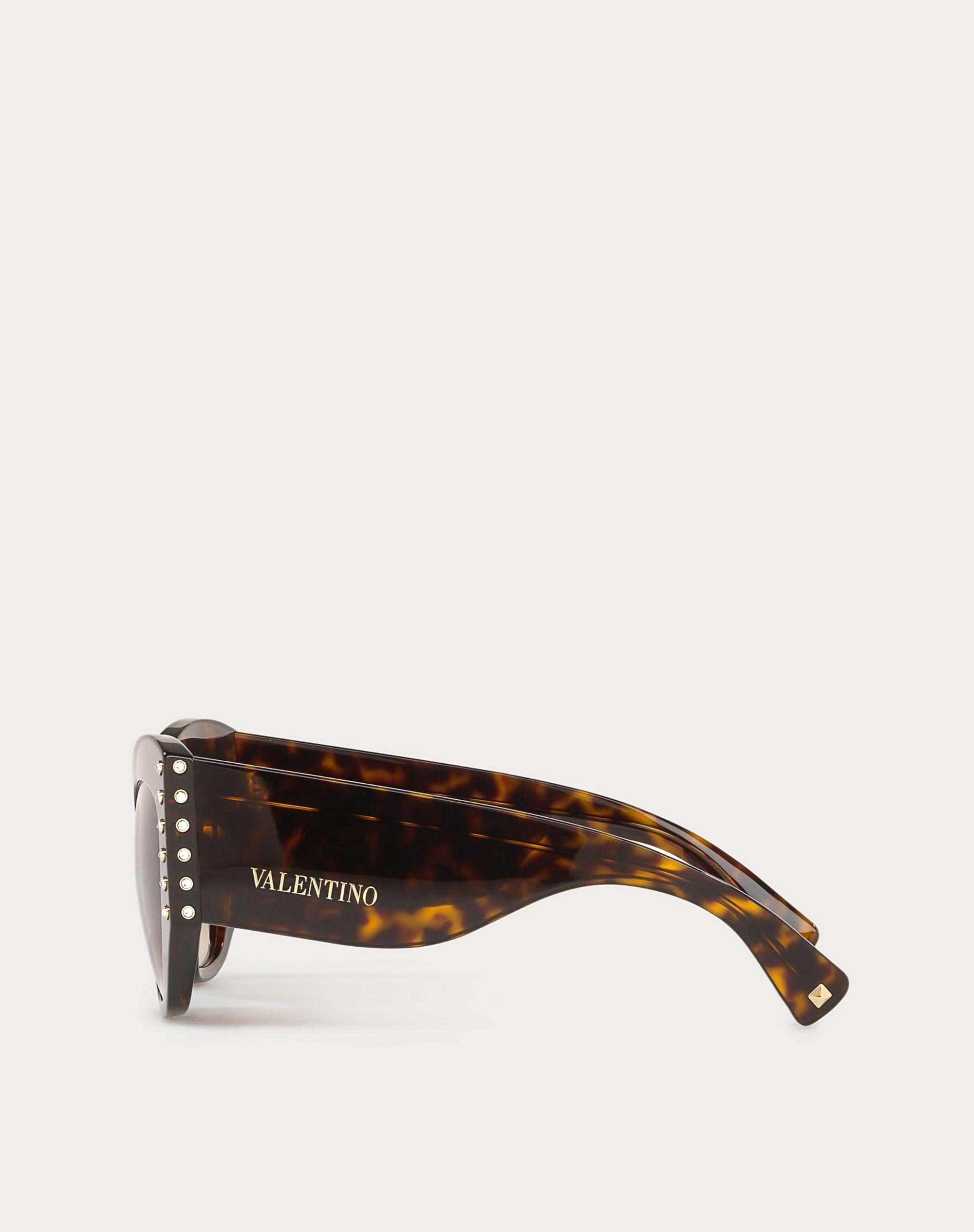 ACETATE SUNGLASSES WITH CRYSTAL STUDS 2