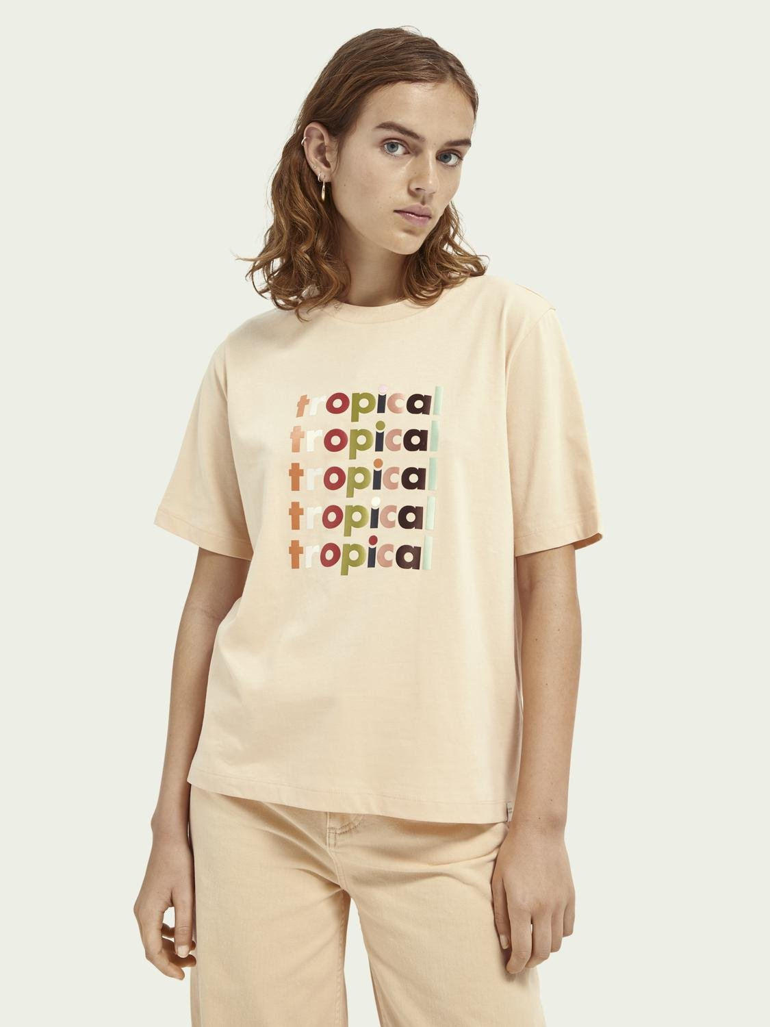 Boxy fit graphic T-shirt