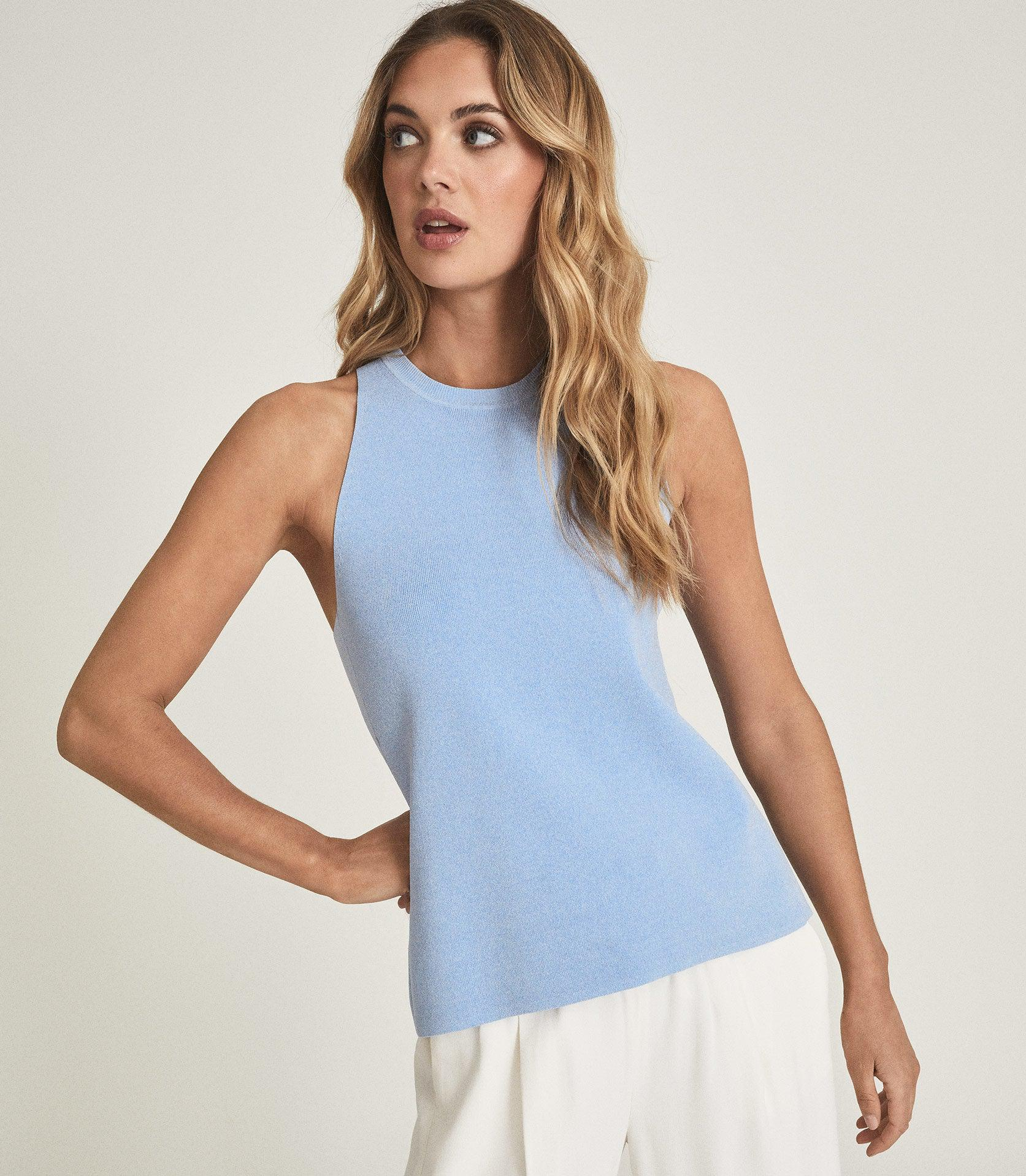 HEIDI - KNITTED OPEN BACK TOP 2