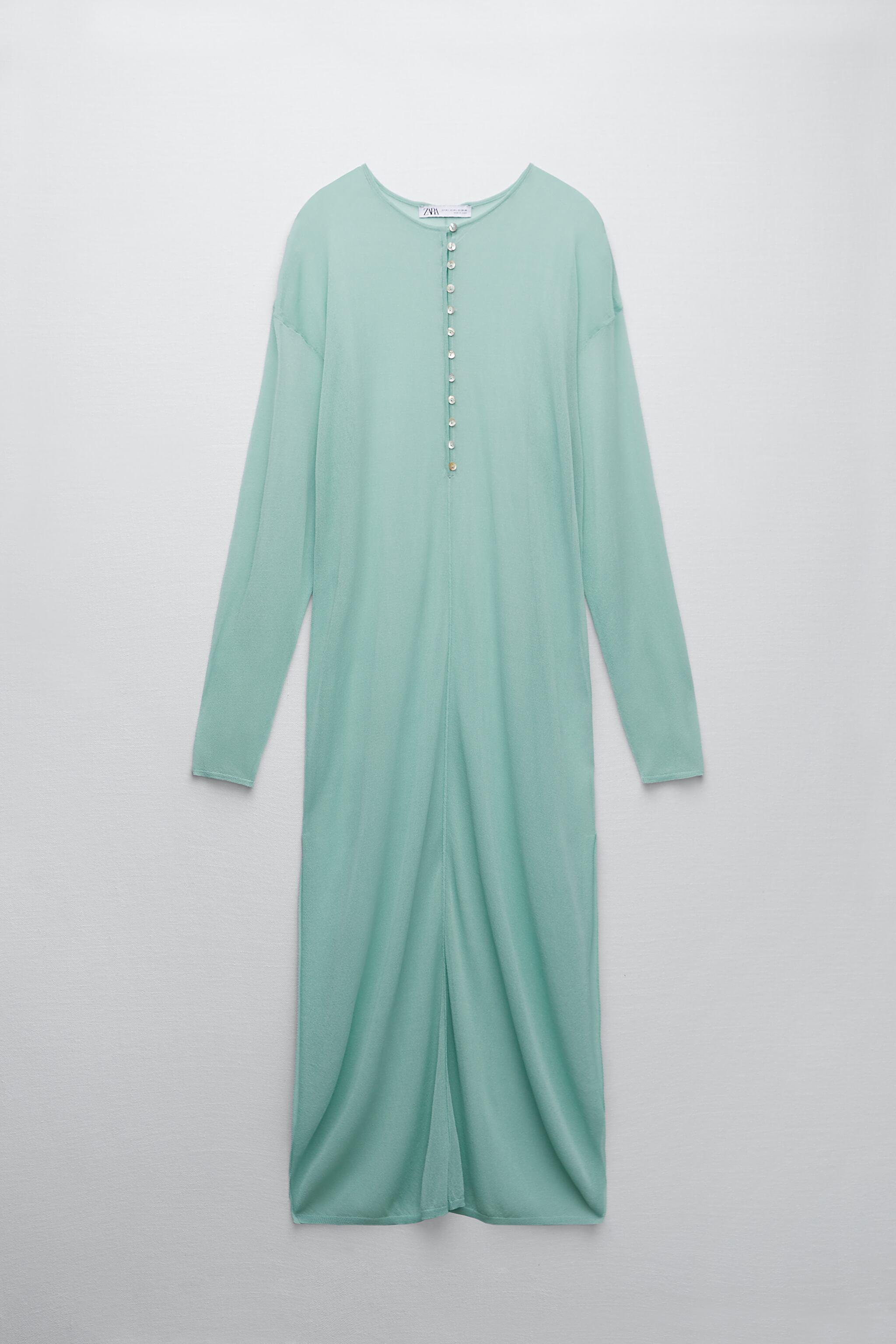 SEMI-SHEER KNIT TUNIC LIMITED EDITION 6