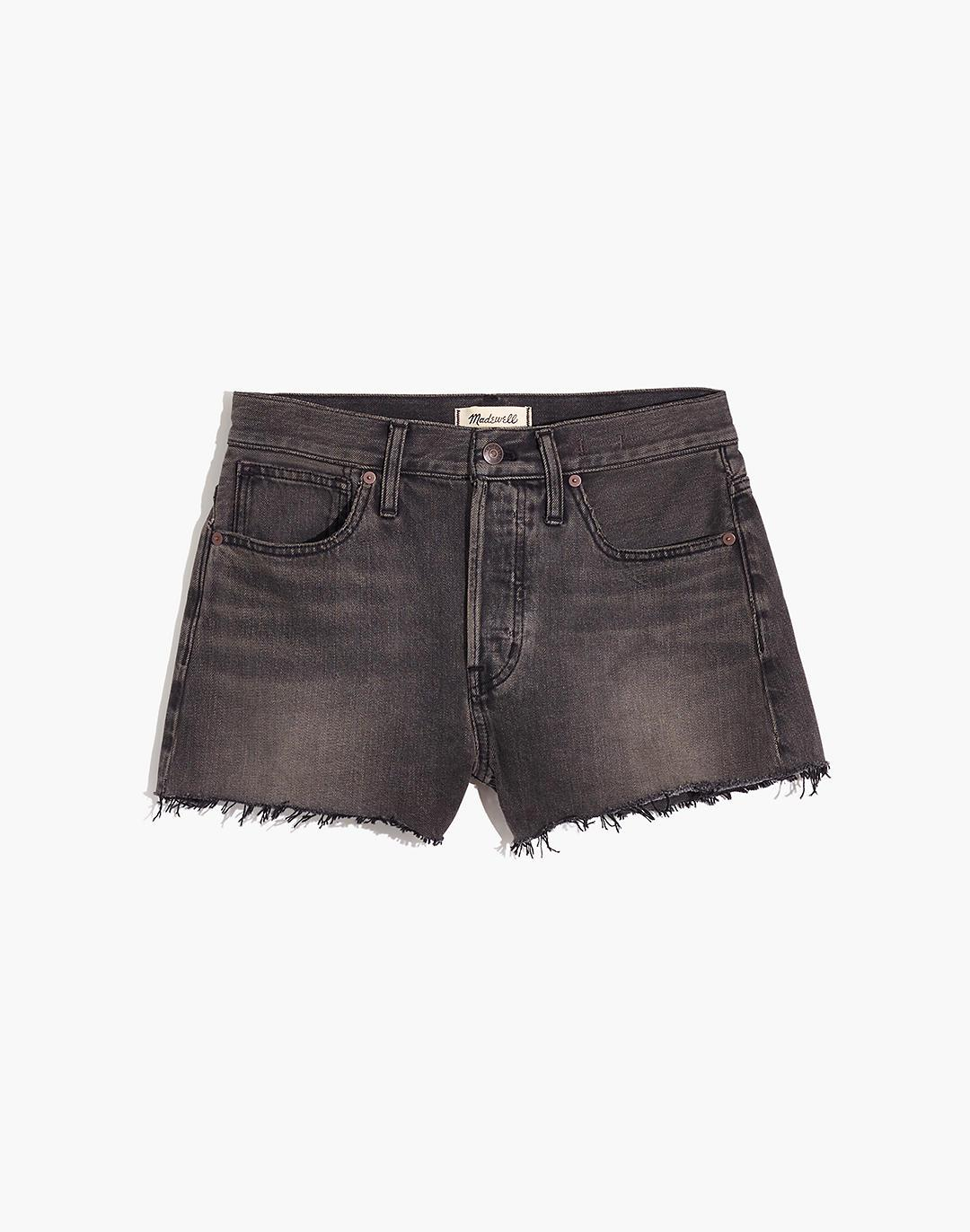 Relaxed Denim Shorts in Bienville Wash 4