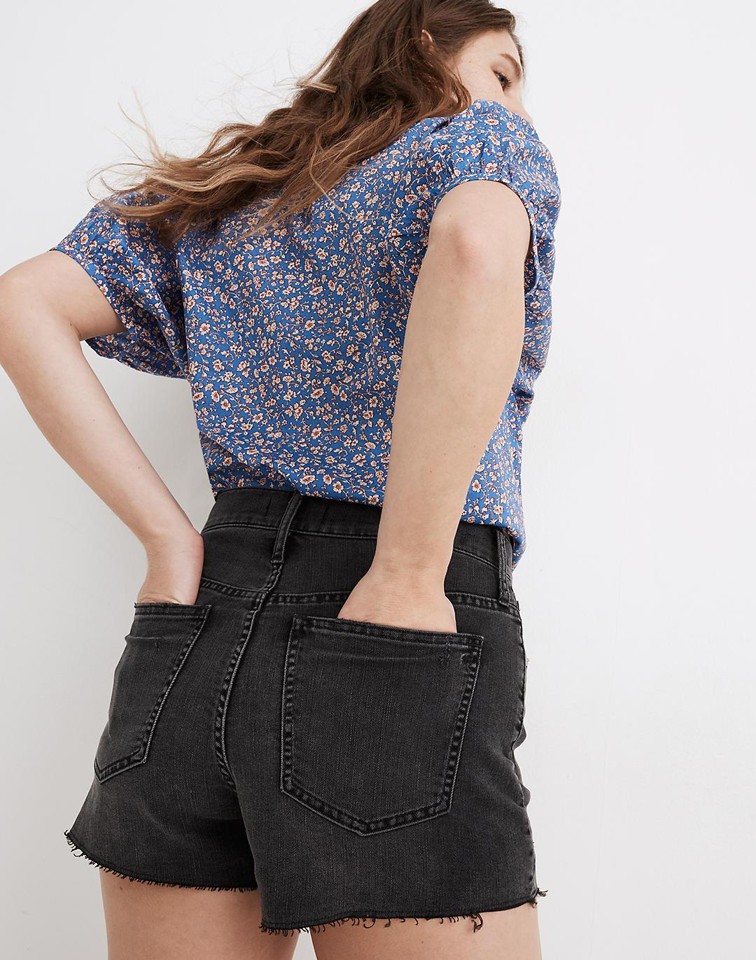 The Perfect Jean Short in Underwood Wash: Ripped Edition 2