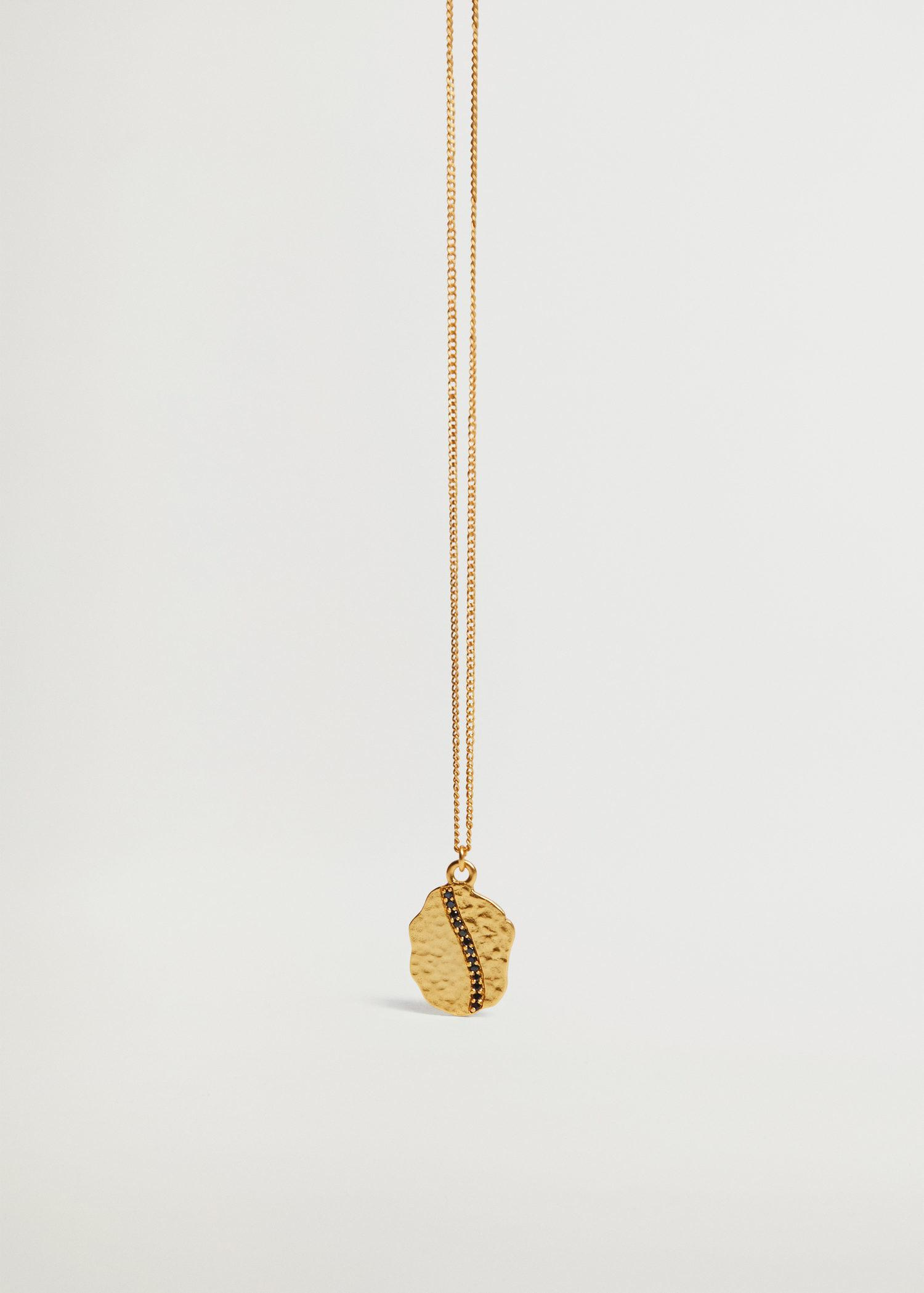 Bead chain necklace 1